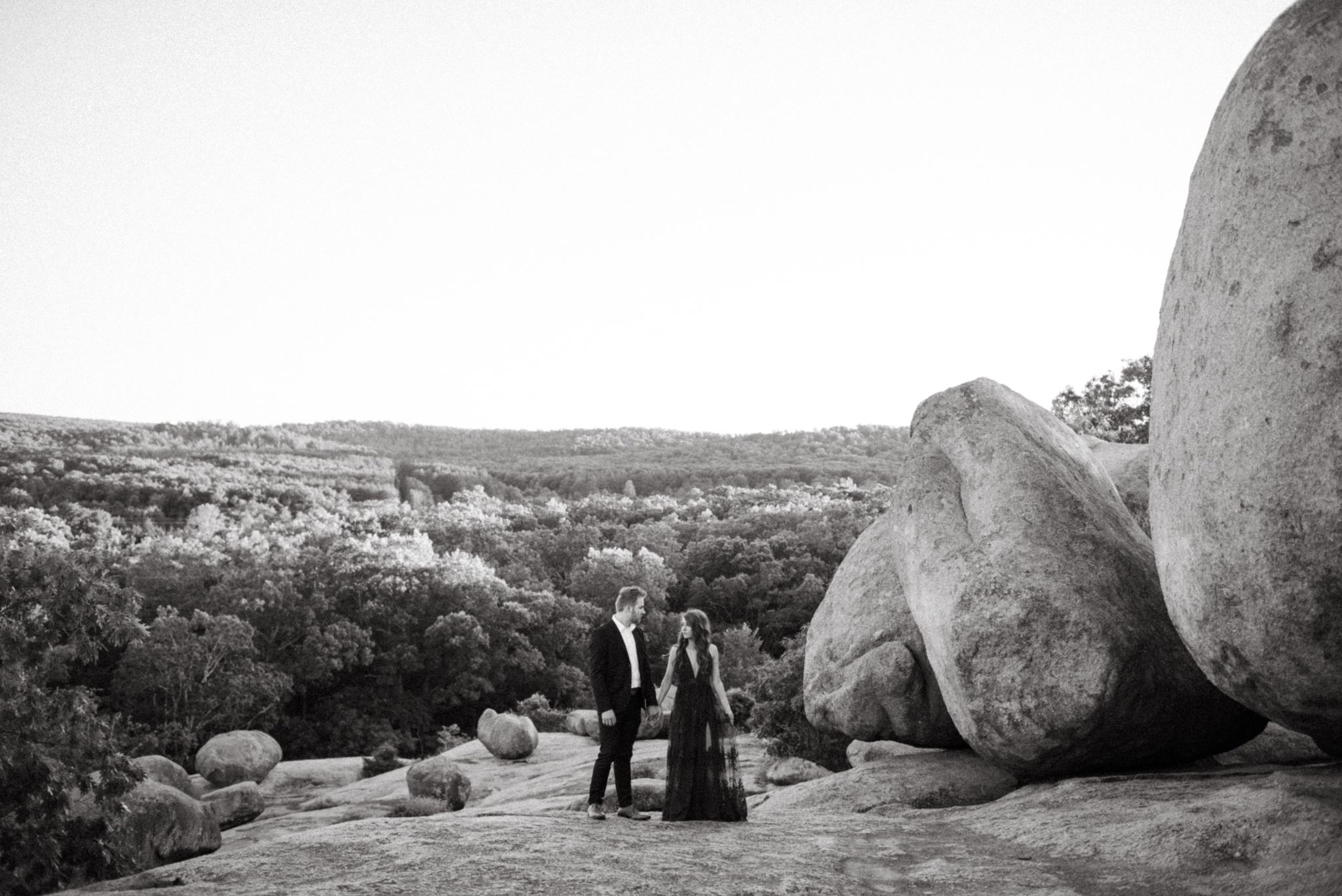 Zach and Rosalie - Missouri Wedding Photographer - Elephant rocks state park anniversary session -7155.jpg