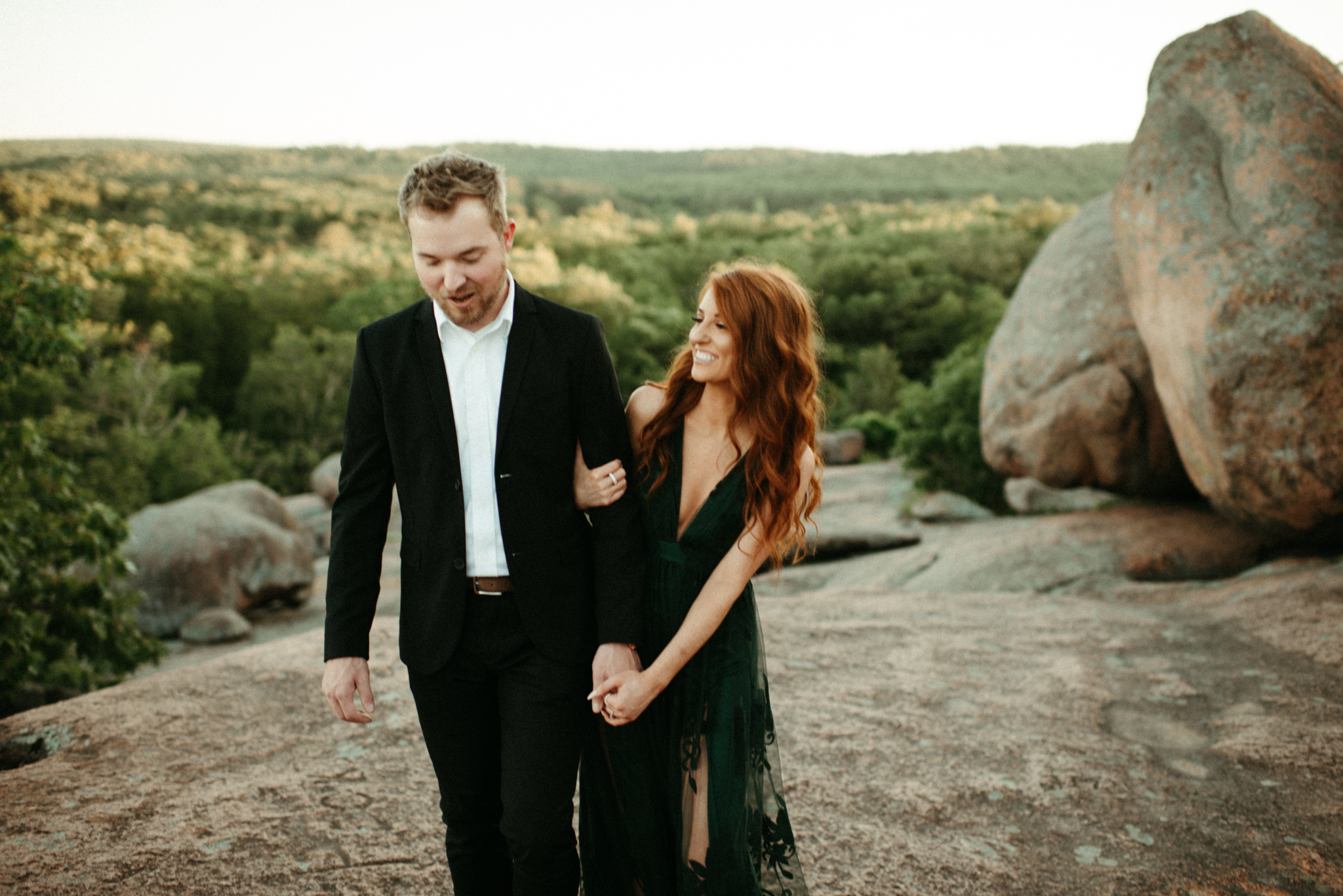 Zach and Rosalie - Missouri Wedding Photographer - Elephant rocks state park anniversary session -7172.jpg