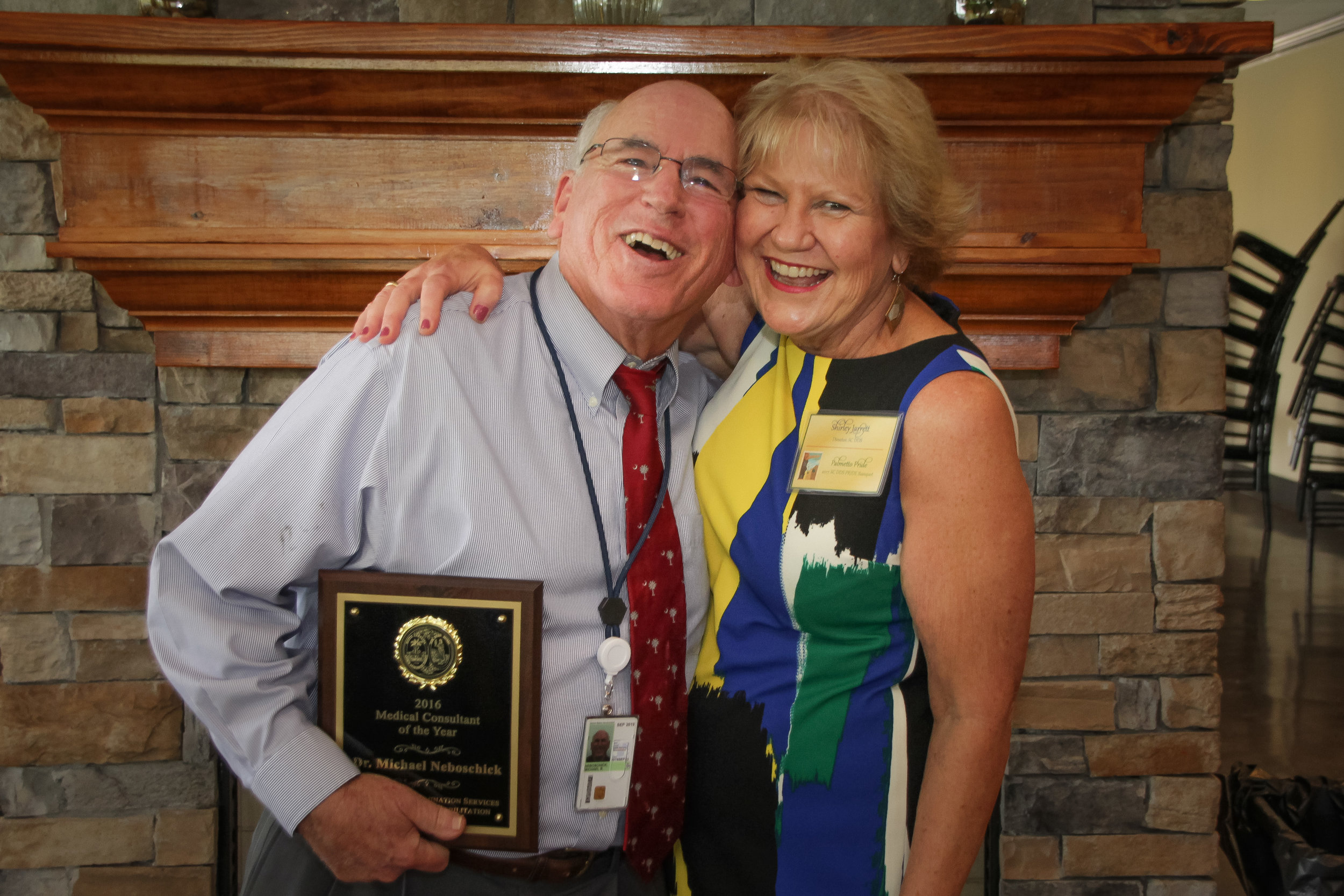 Medical Consultant of the Year  Dr. Michael Neboschick - Charleston DDS Shirley Jarrett, Disability Determination Services (DDS) Director