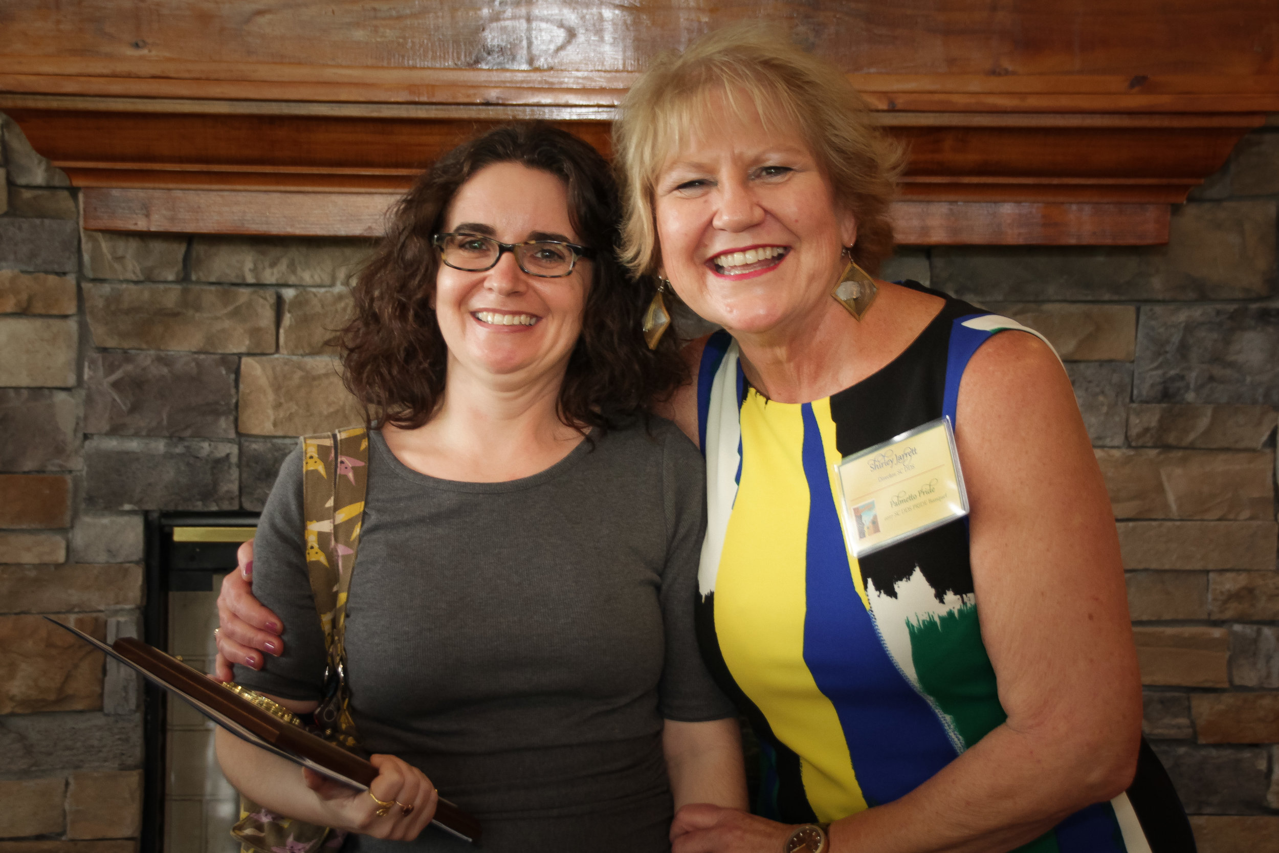 Staff Supervisor of the Year  Summer Ham - Columbia DDS Shirley Jarrett, Disability Determination Services (DDS) Director