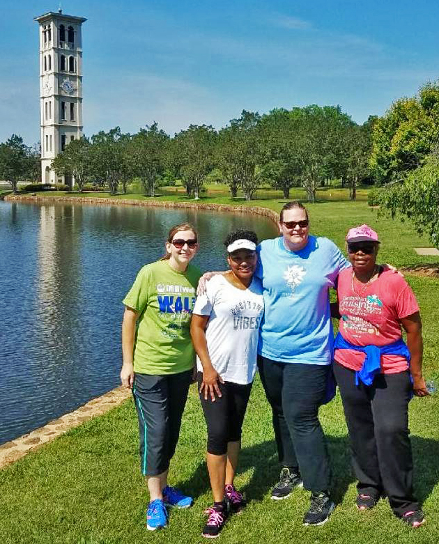 Left to right): Julie Atkins, Area Client Services Manager; T. Dionne Allen, Counselor; Tanya Lambert, Occupational Therapist; Estella Wilder, Administrative Team Support Specialist.
