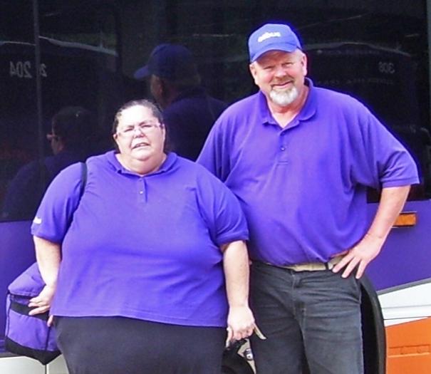 Lucinda Blend, left, former VR consumer, with Steve Ackerman, VR Training Center Manager in Anderson.
