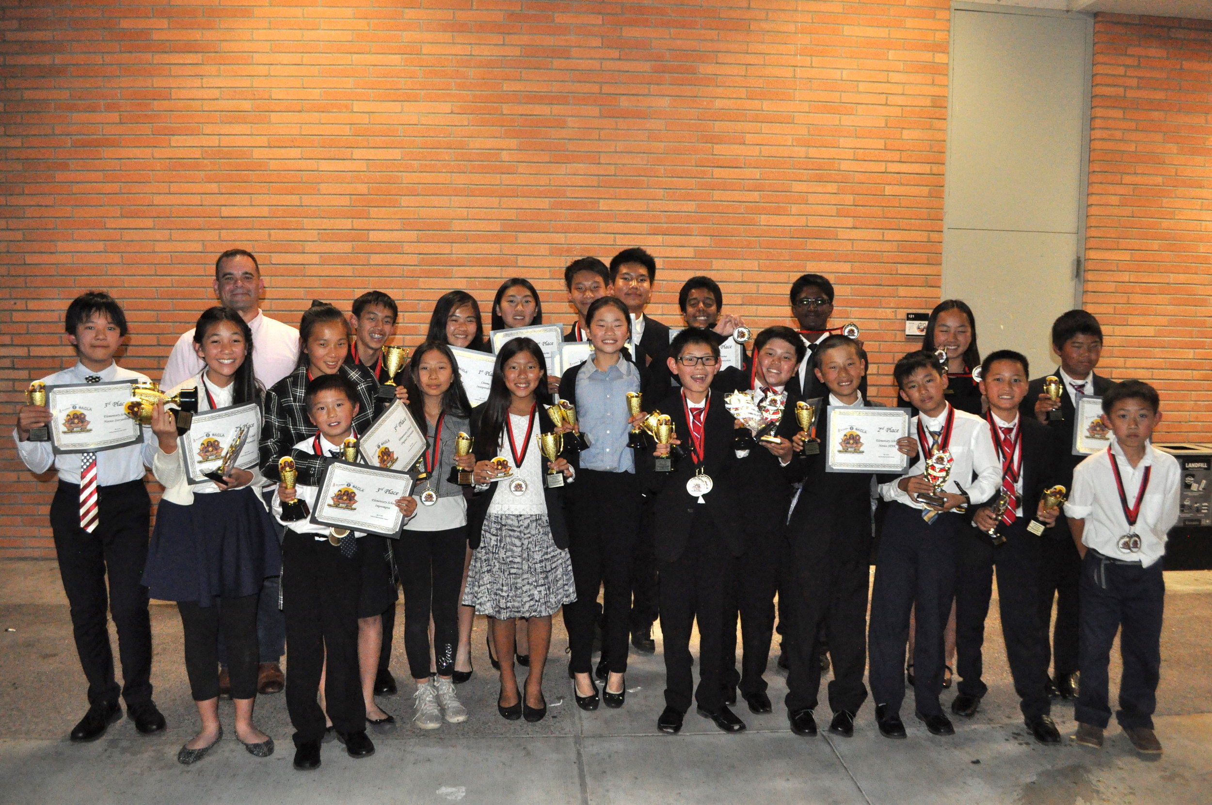 Congratulations students for your amazing performance at NCACF!