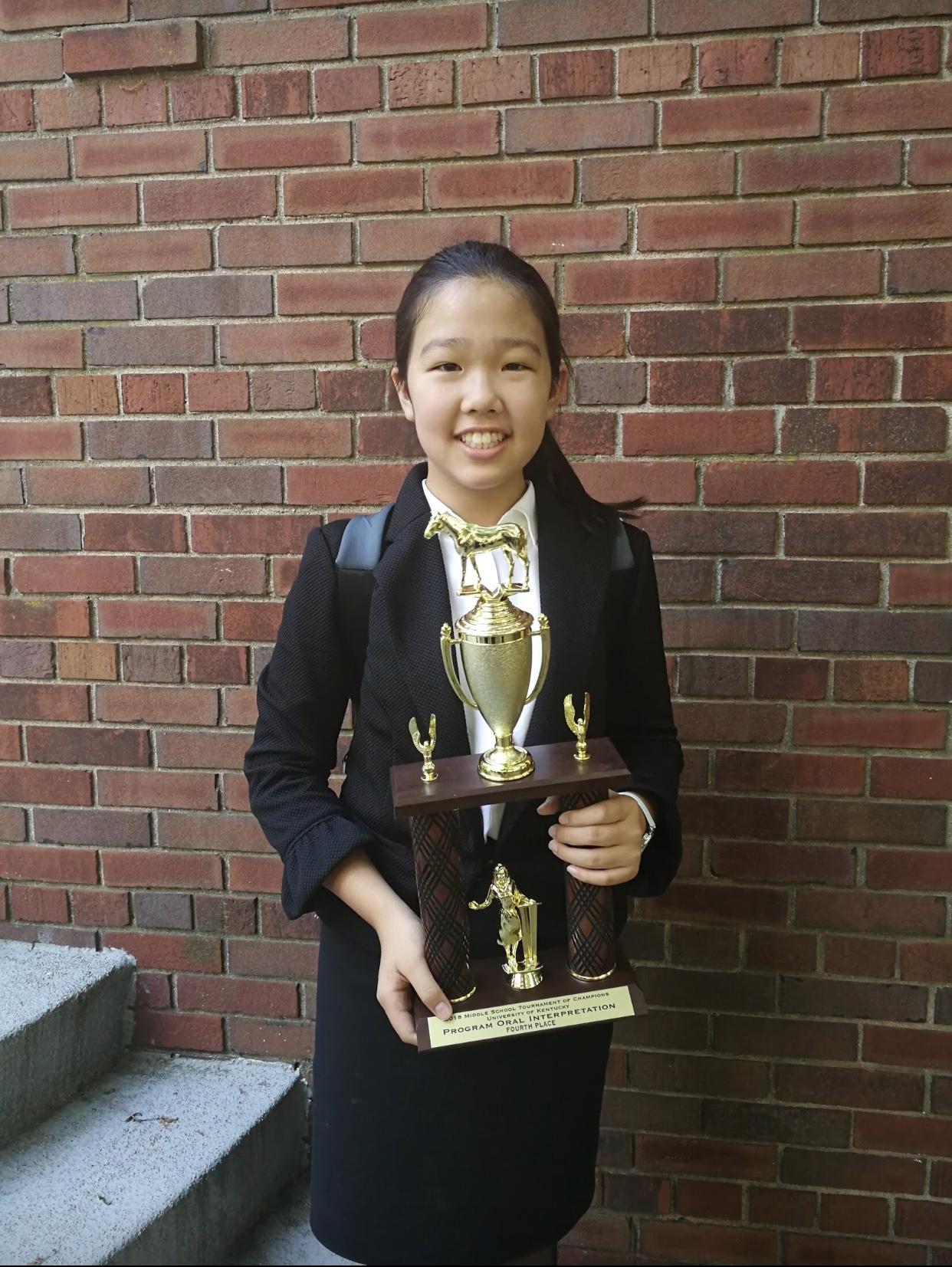 Ashley: 4th place poi.