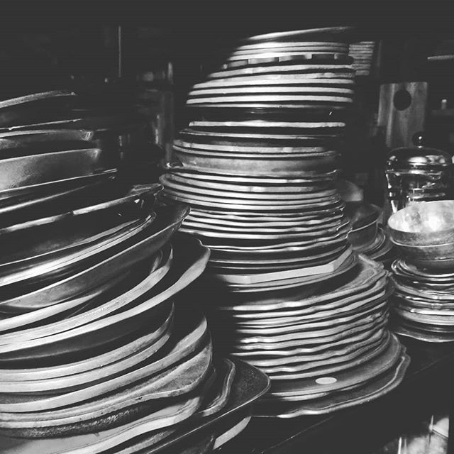 Another obsession....vintage metals. Whether it's pewter, silver, gold, brass, or enamelware....I love it! Stacked too high but when space is limited you can only go up! #props #propstylist #propstyling #prophouse #propcloset #propcollection #prop #foodphotography #foodphotographyprops #lovemyjob #hoarder #create #vintage #patina #aged #vintagemetal #pewter #silver #enamelware #runningoutofroom #nomorespace #metal #proprental #proprentals #proprentalschicago