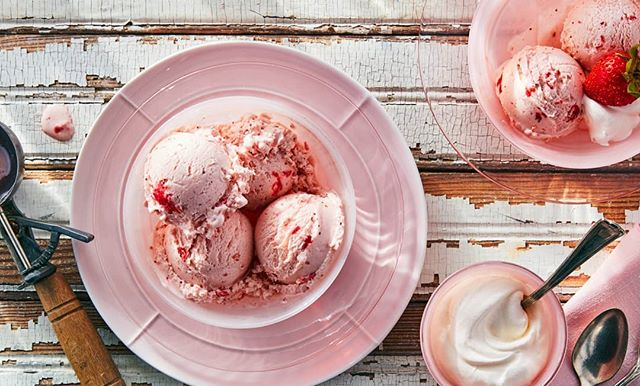 National ice cream day! 😋 Lisa Bishop you are a master at ice cream! #nationalicecreamday #icecream #strawberry #yummy #summer #propstylist #propstyling #prophouse #propcloset #propcollection #prop #foodphotography #foodphotographyprops #lovemyjob #hoarder #create #foodporn #instafood #instagood #production #vintage #patina #pink #gogetsome