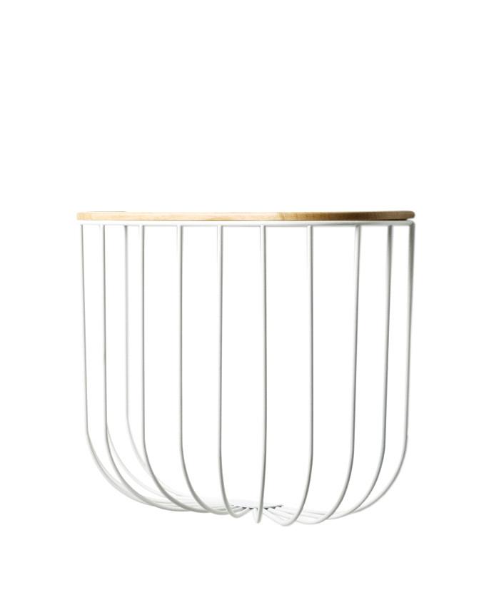 StudioGabrielle-Inspired-Melbourne-Homewares-ResidentGPHomeware-FUWL-Cage-Shelf-White-LightAsh-Wood-studiogabrielle.co.uk