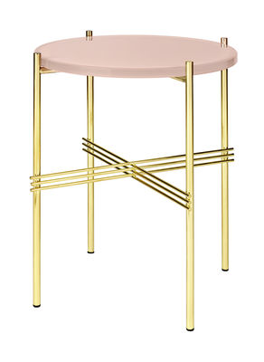 StudioGabrielle_Gubi - TS Round Side Table with Glass Top