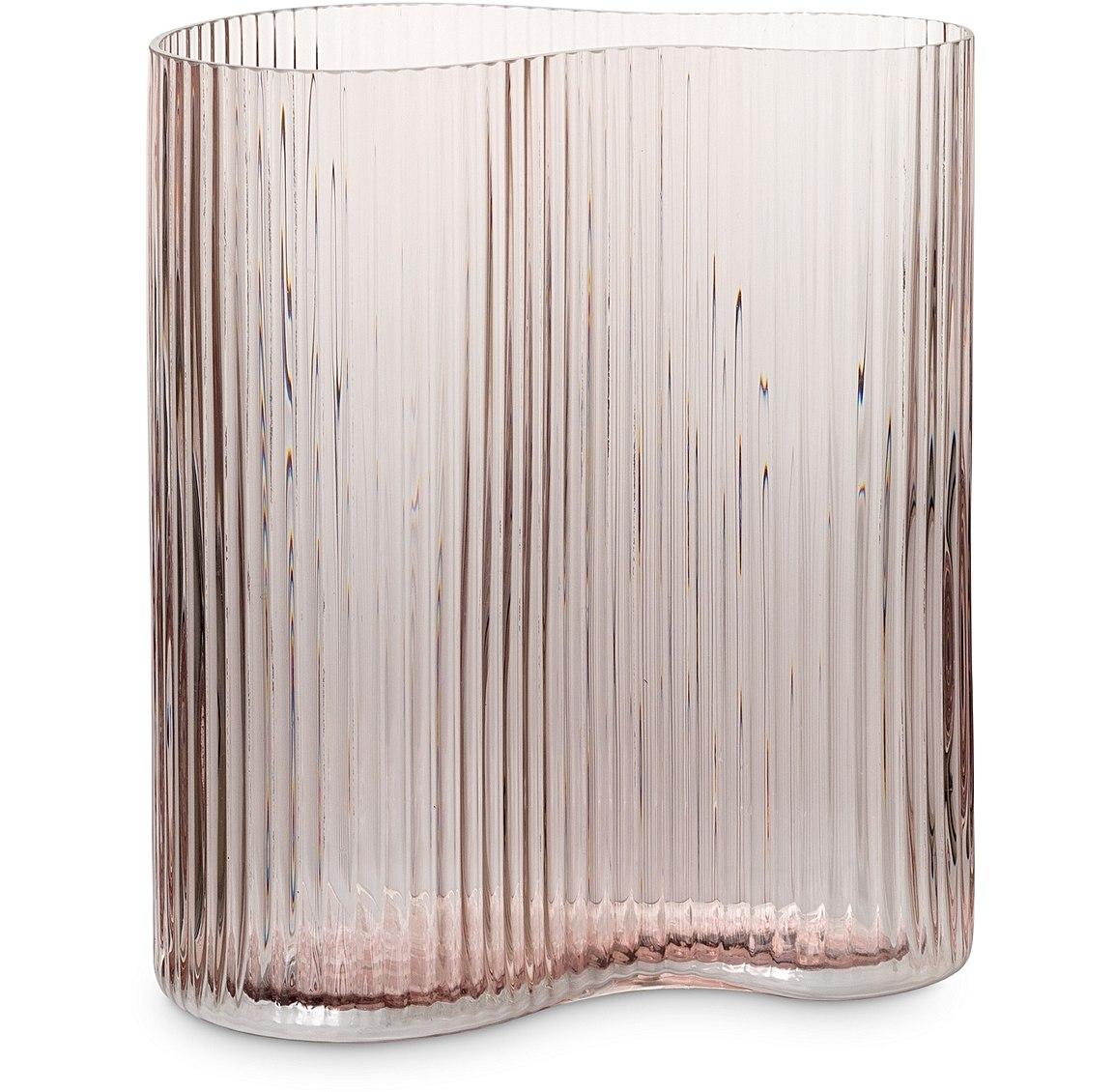StudioGabrielle_Oliver Bonas - Petitine Short Pink Glass Vase