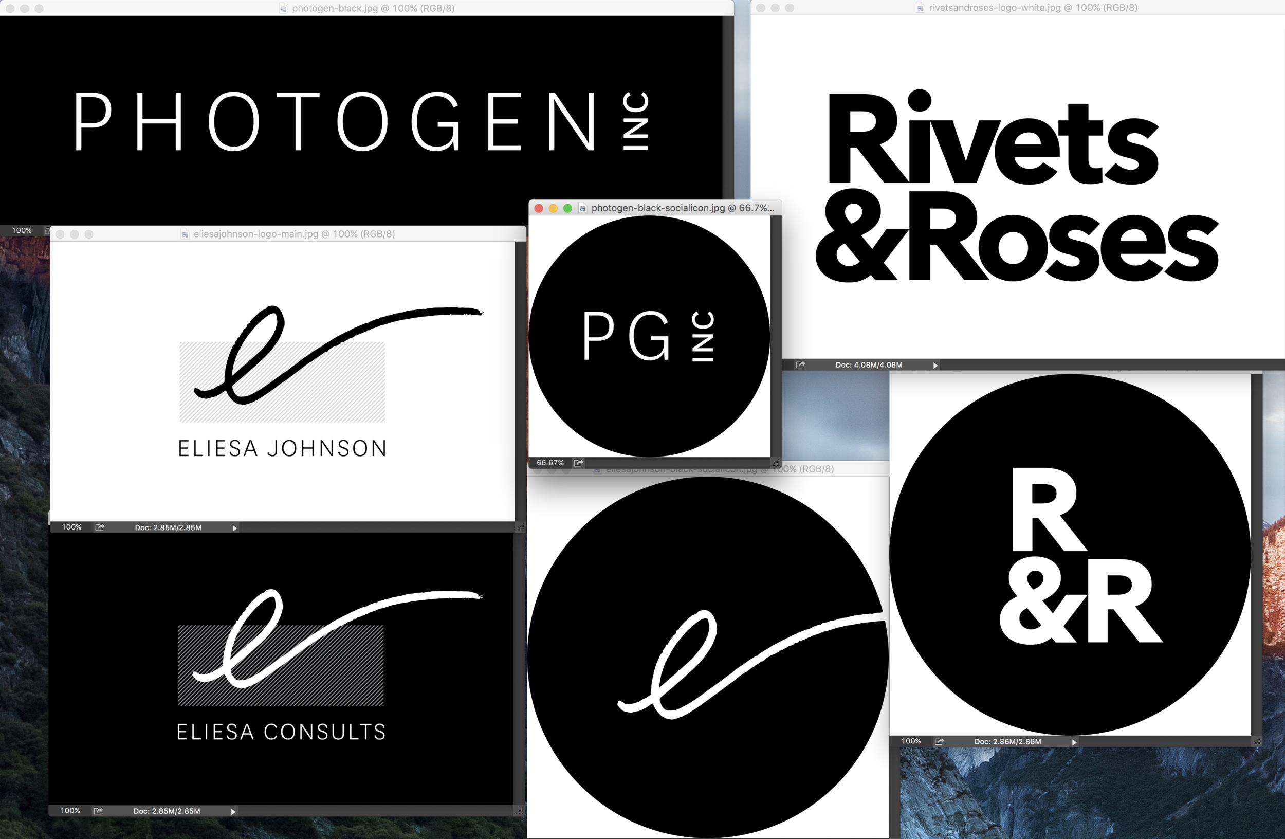 Brand Identity work by Dschwen