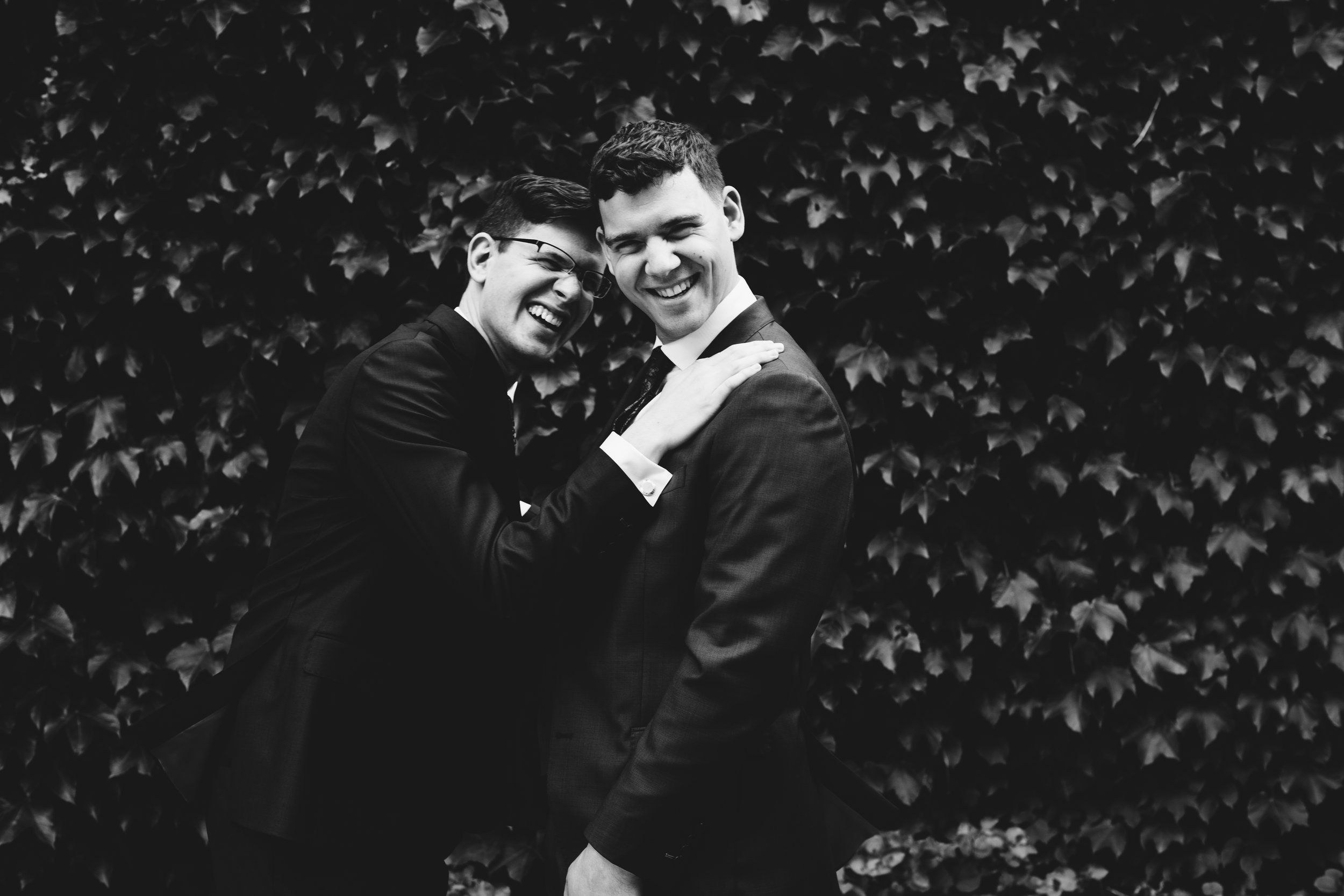 Same Sex Wedding Photographers | Rivets & Roses | Photo by Jess Ekstrand