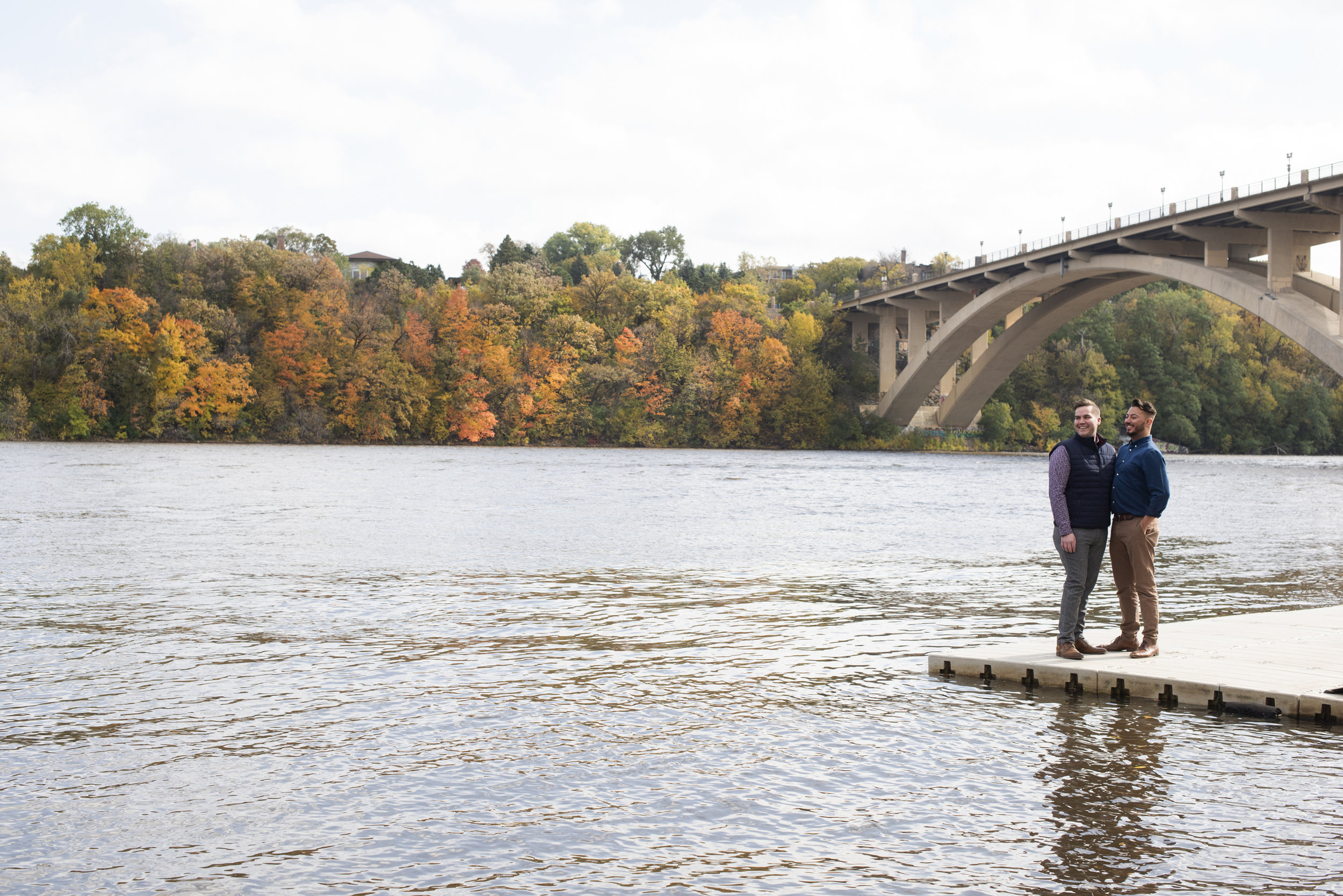 Minneapolis Fall Engagement Session | Photography by Melissa Hesse