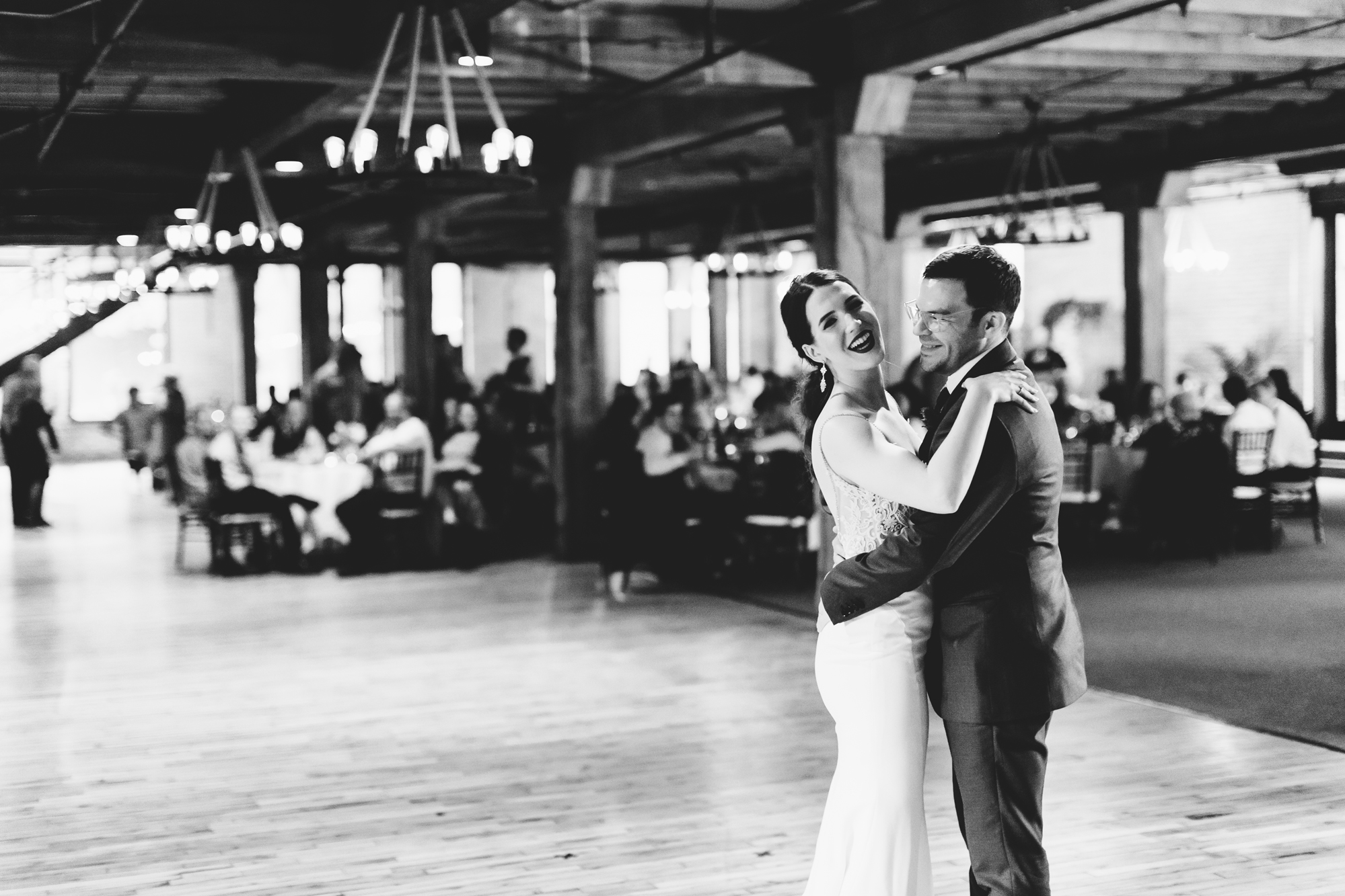Brandon and Michele during their first dance as newlyweds.  Wedding by:  Jess Ekstrand