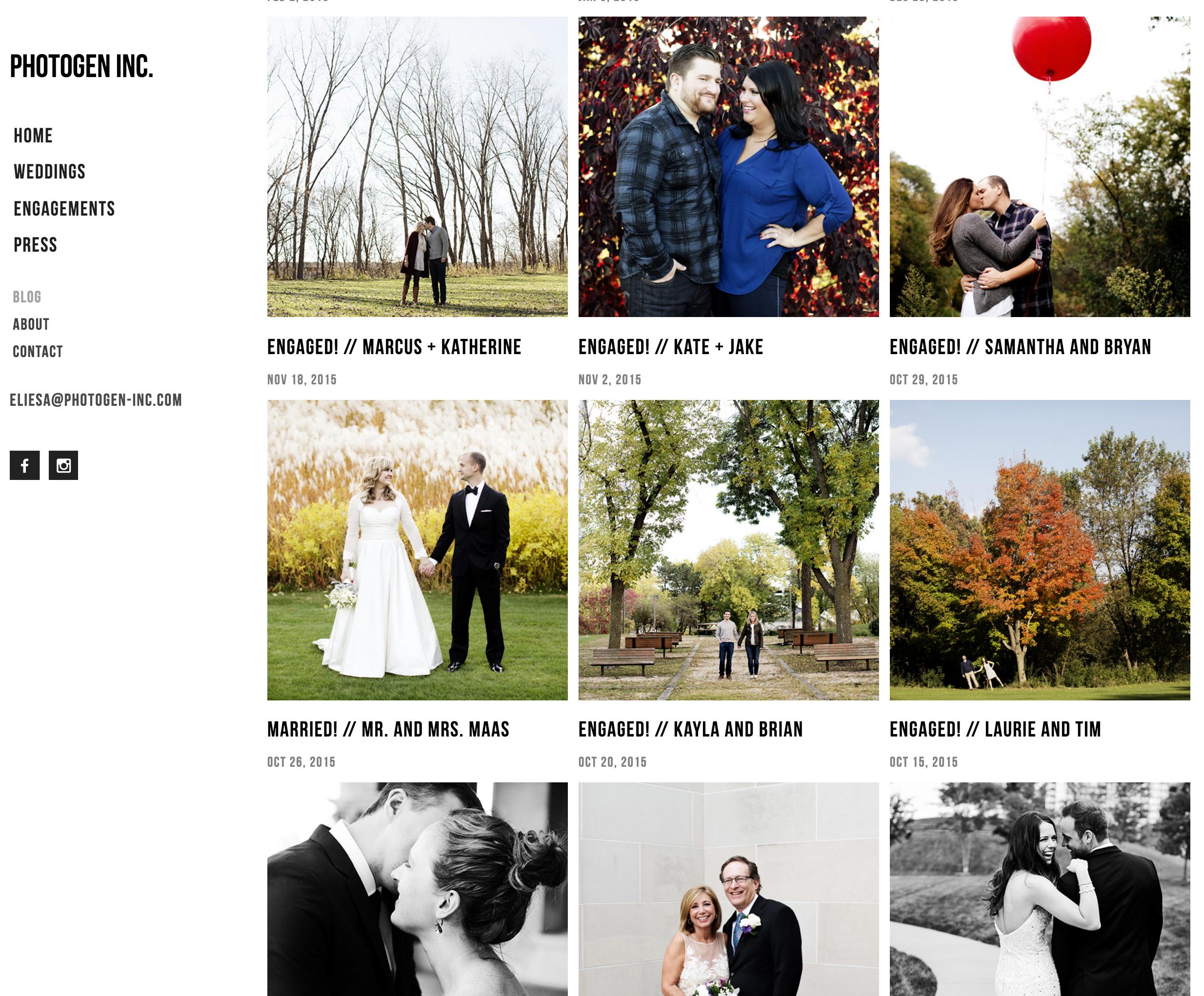 Minneapolis Wedding Photographer | Photogen Inc. | Eliesa Johnson