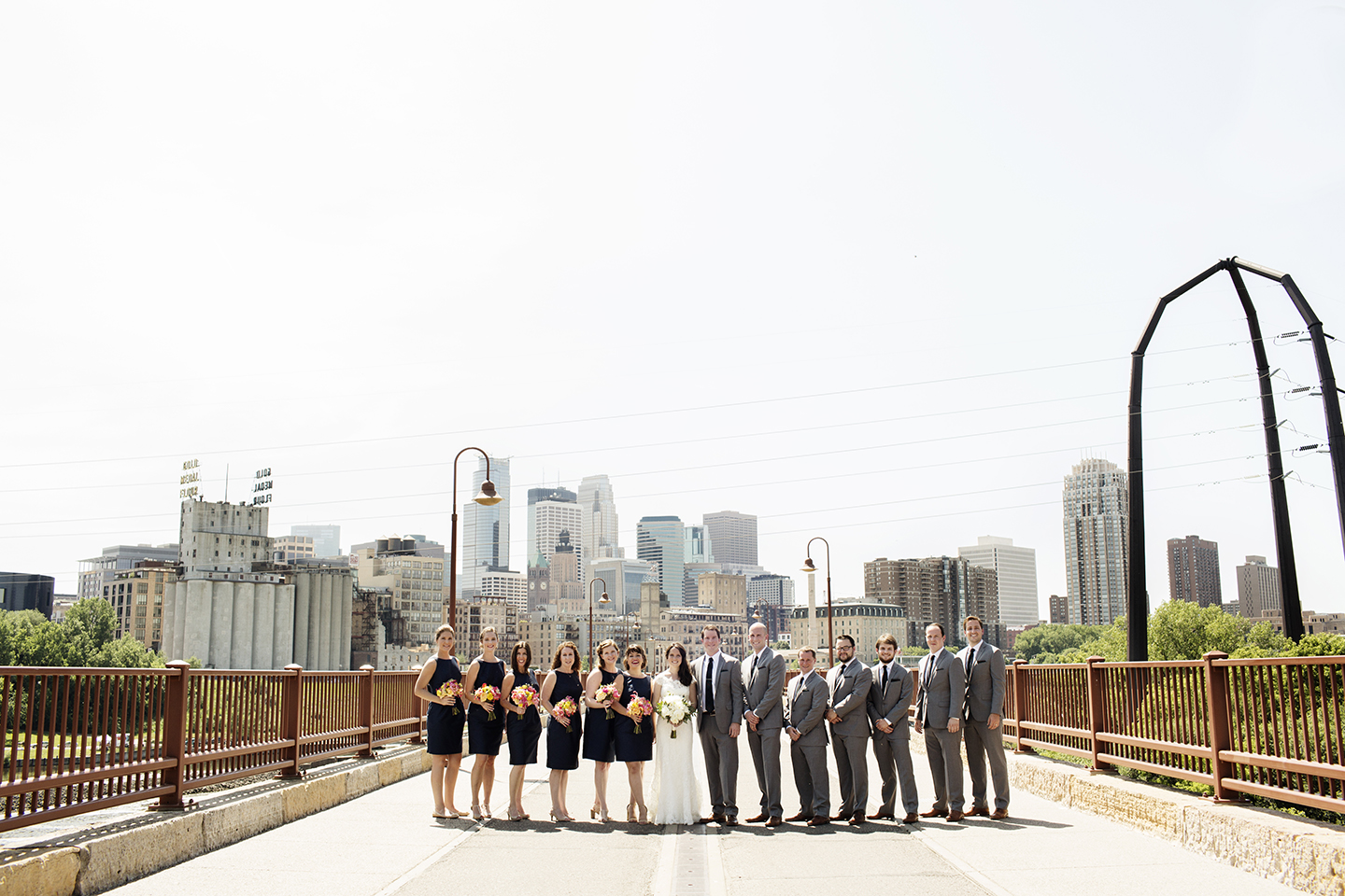 Stone Arch Bridge Wedding Photos | Wedding Photographer | Photography by Photogen Inc. | Eliesa Johnson | Minneapolis, Minnesota