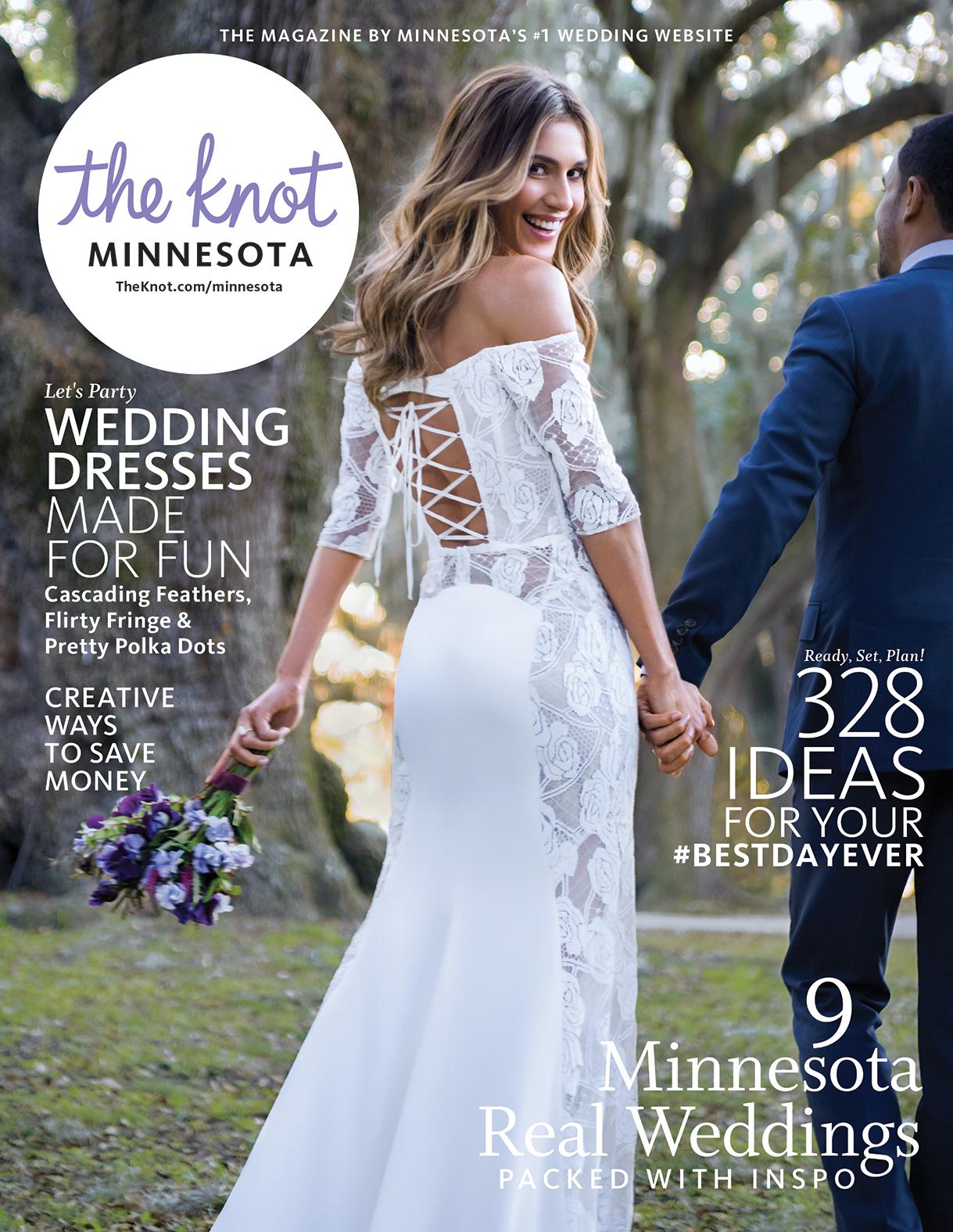 The Knot Minnesota Wedding Magazine Website