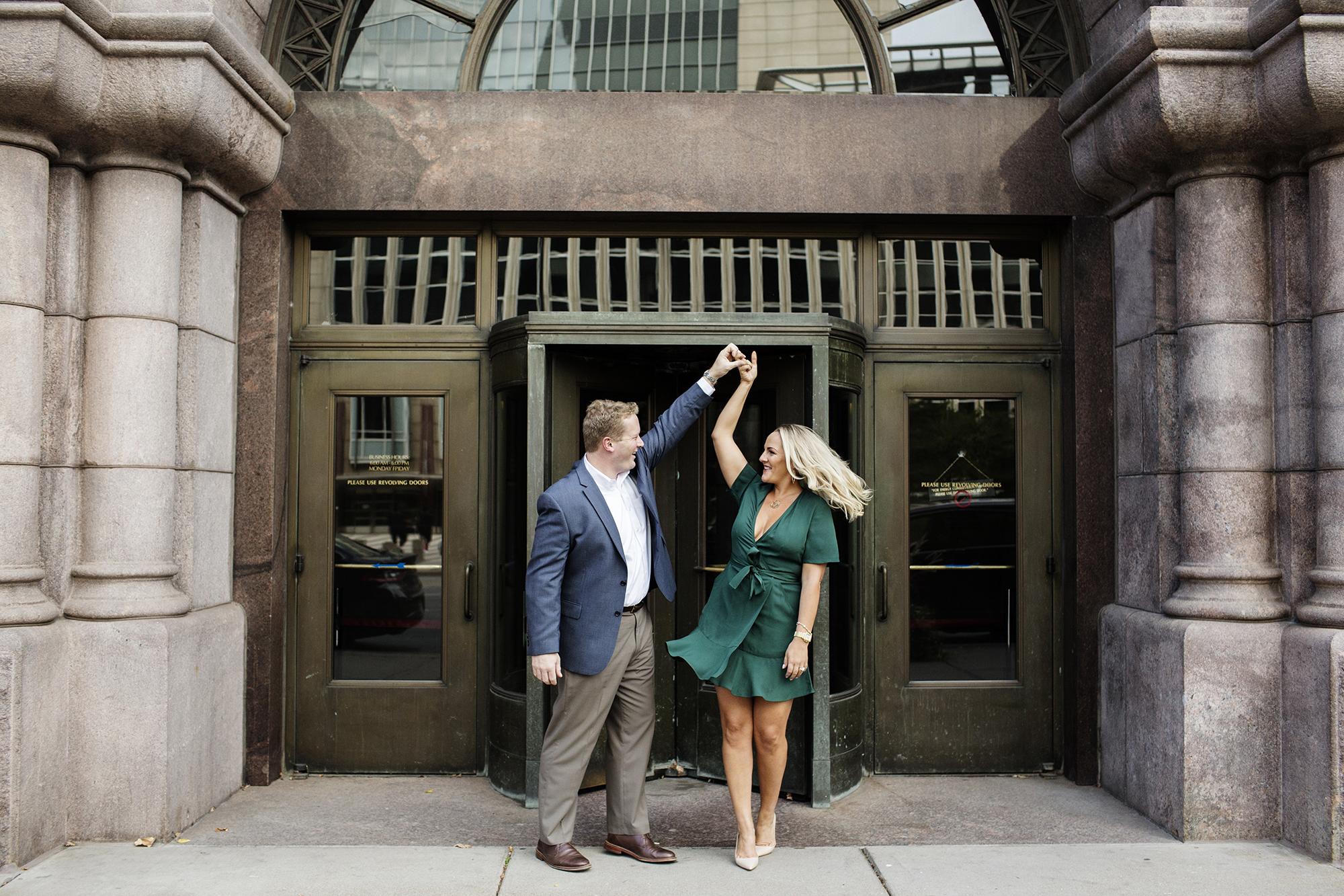 City Hall Engagement Photos | Photography by Photogen Inc. | Eliesa Johnson | Based in Minneapolis, Minnesota