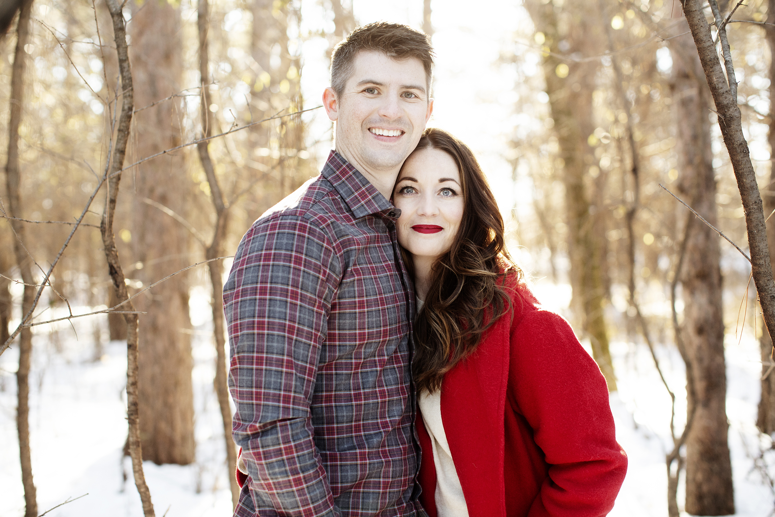 Winter Engagement Session | Afton State Park, MN | Photography by Photogen Inc. | Eliesa Johnson | Based in Minneapolis, Minnesota