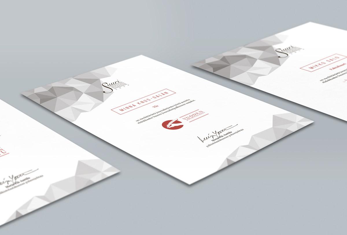 / nomination diplomas