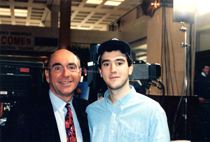 Dick Vitale and I at the 1992 Final Four in Minneapolis. I just turned 18 and was 9 months post transplant.