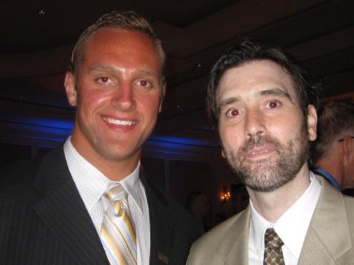 Mark Everett Kelly (seen here with former  New York Giants LB Mark Herzlich )
