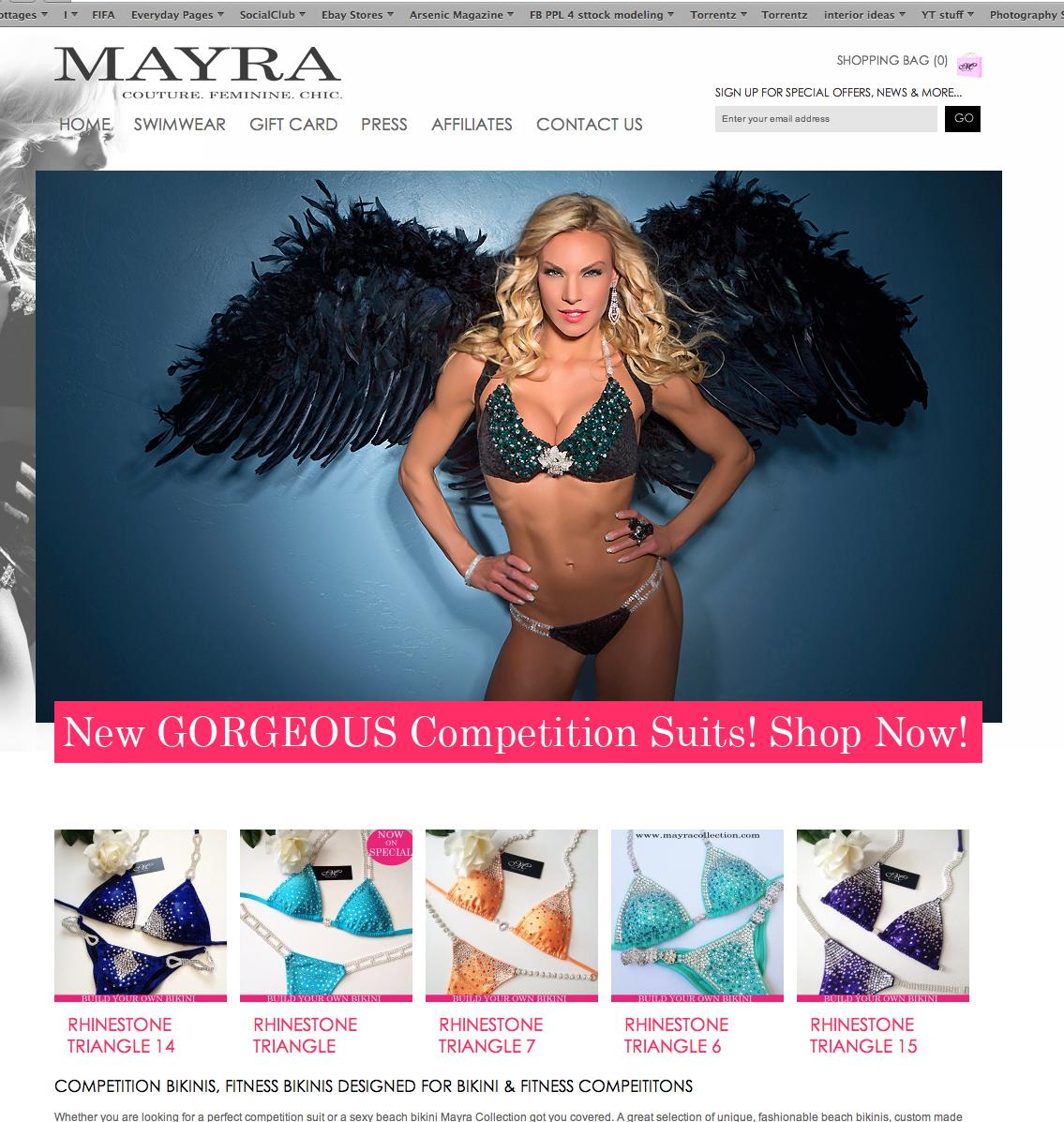 Mayra Bikini Studio V Photography Toronto 5