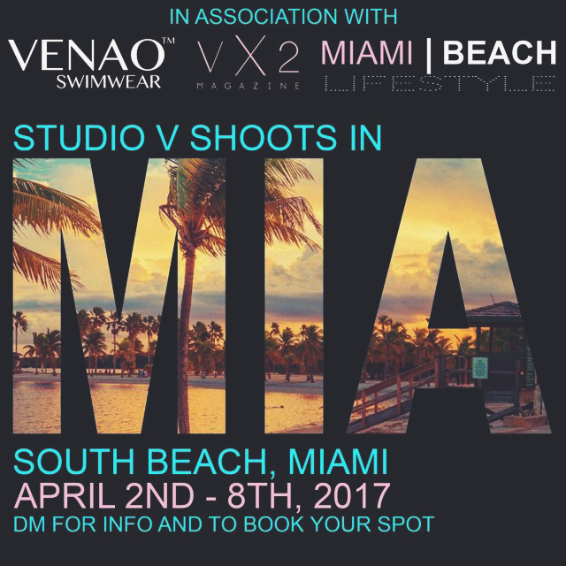 Studio V Photography Miami Beach VX2 Magaine SEO
