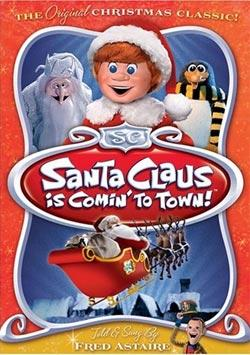"Santa Claus Is Comin' To Town (1970) - The story of ""how"" and ""why"" Kris Kringle came to be! All of your questions answered! From the red suit to the flying reindeer. I love the warlock and remembering how scary he seemed as a kid. Now I think its funny how quickly he moves from a bad guy to a good guy.Fun Fact: Every year I put out cookies and milk for Santa, along with some carrots for the reindeer. I never wrote to Santa ahead of time, but always left him a note on Christmas Eve. One year, he wrote me back!"