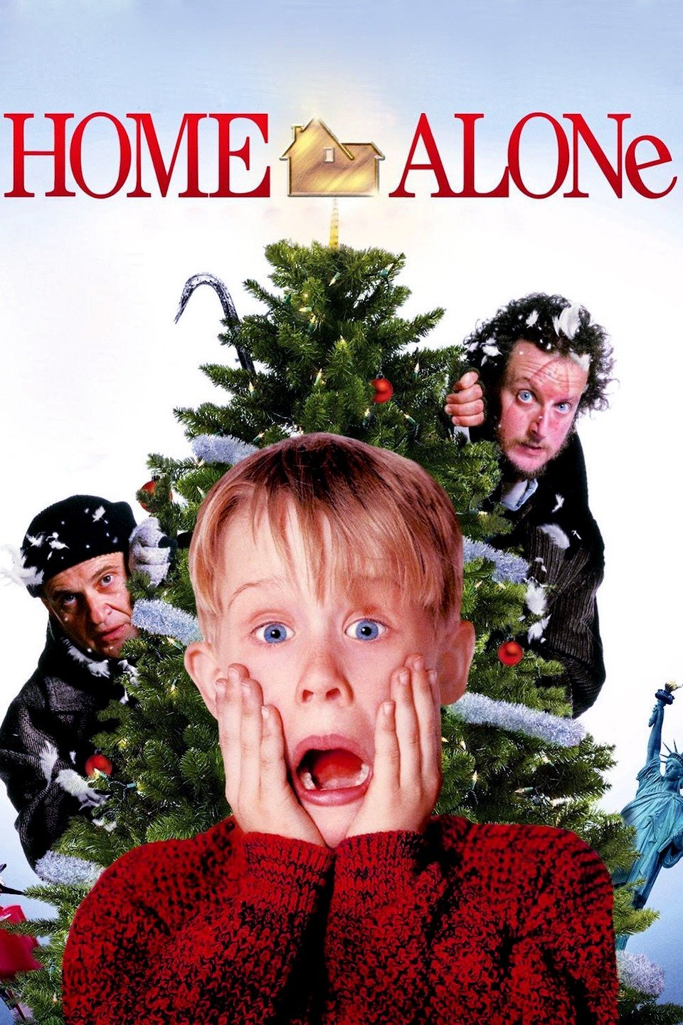 "Home Alone (1990) - ""Buzz, your girlfriend, WOOF!""This whole scenario is pretty much my worst nightmare in real life. Or was, I guess. Being forgotten and all alone in a giant house that creepy men are trying to get into. But it sure does make for a fun Christmas movie! Especially the classic bad-guy coming to the rescue bit!Fun Fact: One year, my whole extended family on my mom's side went to Mammoth, CA for Christmas. Me and my cousins camped out in the living room on Christmas Eve and I swear, (I SWEAR!) I heard bells on the roof!"