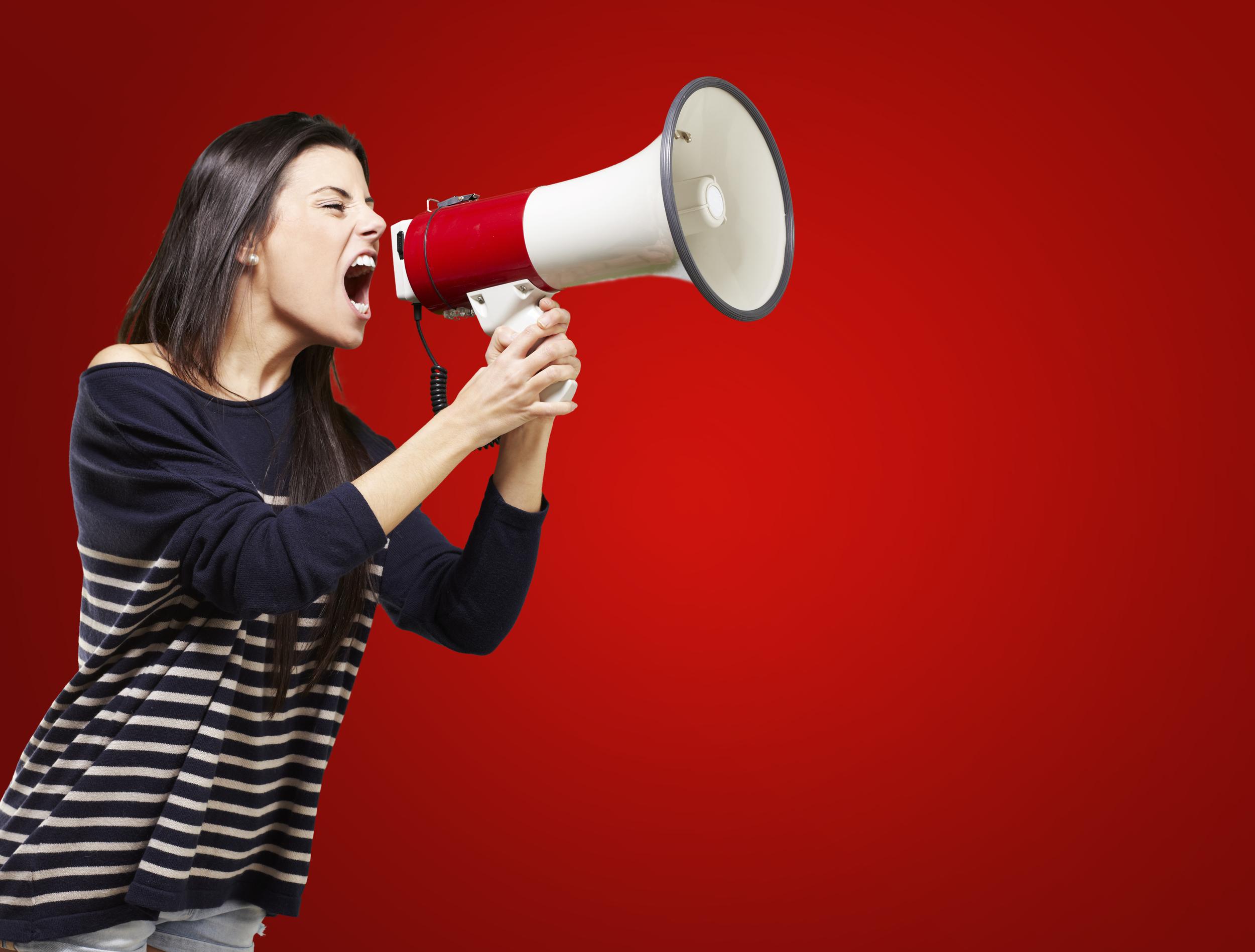 Greenlight Blog - Shouting