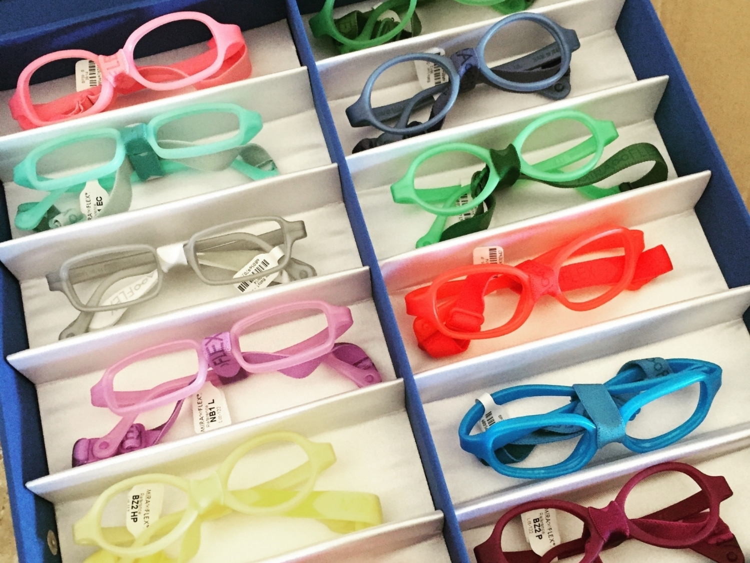 Pediatric Eyewear, Miraflex