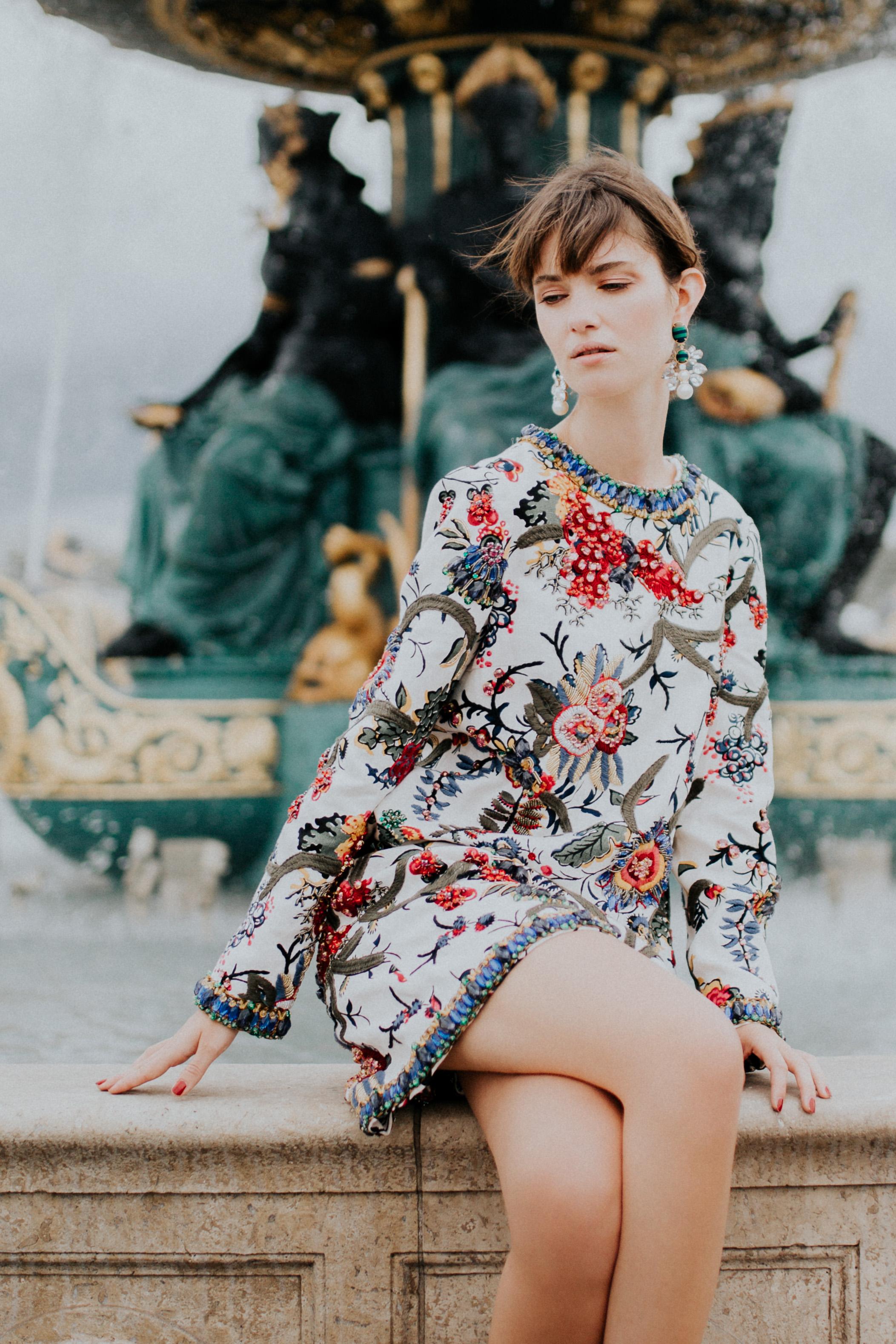 Lea Bonneau - Lea's Look #2: Rylie Dress, Alma Platform Sandals