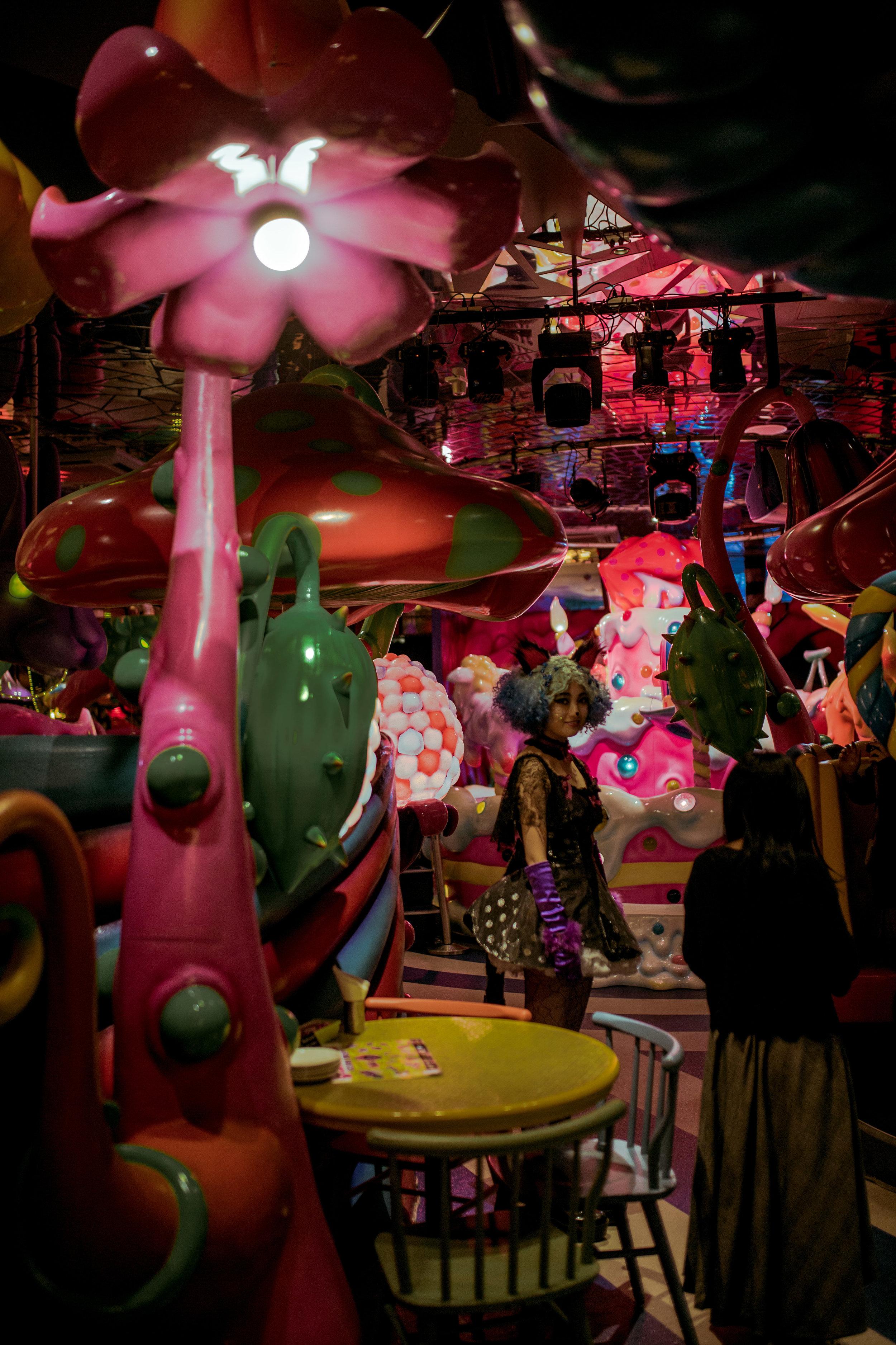 Kawaii Tokyo Paris Monster Cafe