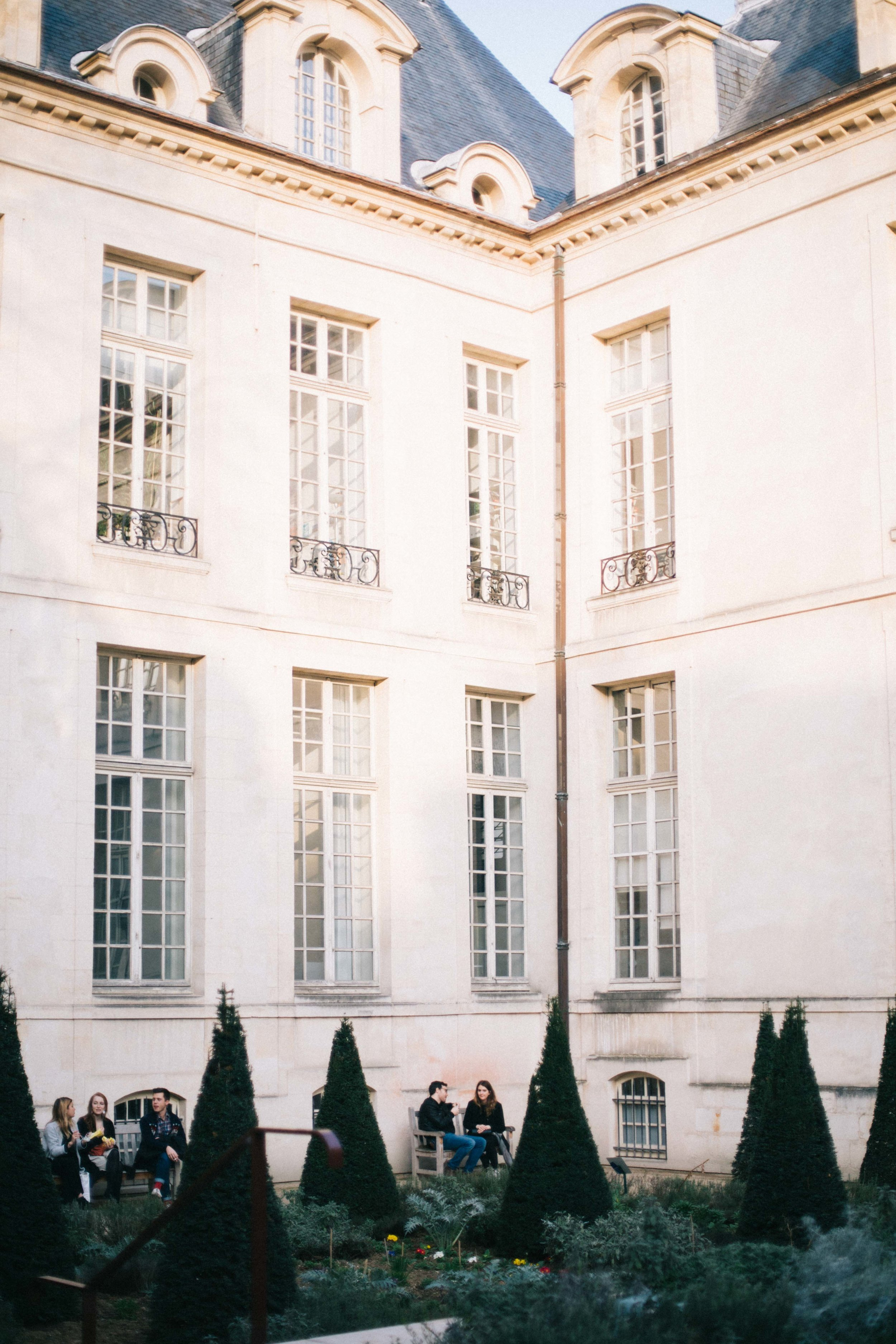 Charlotte Margot Photography Parisian Architecture: Courtyard