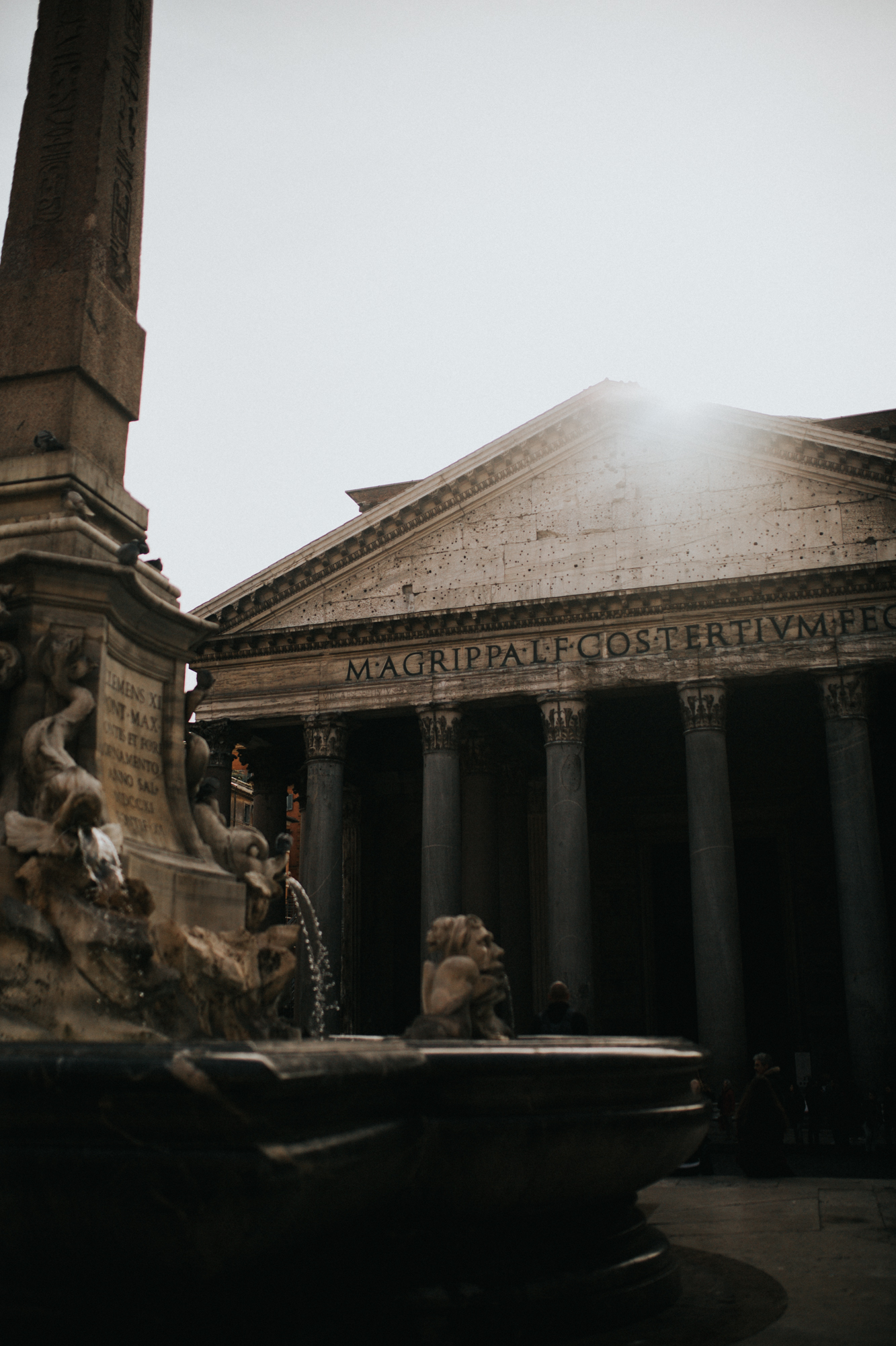 Italy - Rome Travel Photography - Pantheon