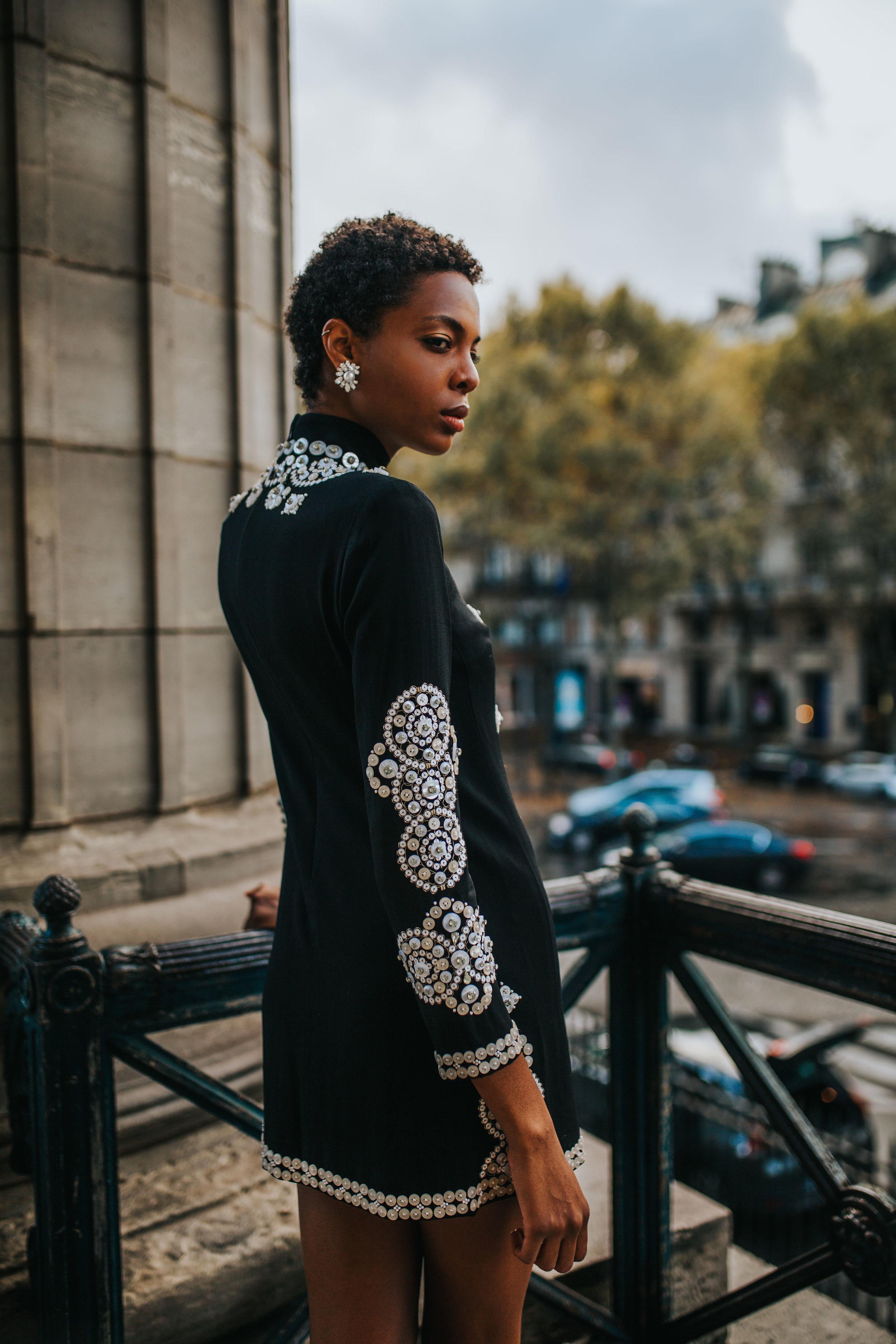 Tory Burch Paris Holiday Fashion Photography