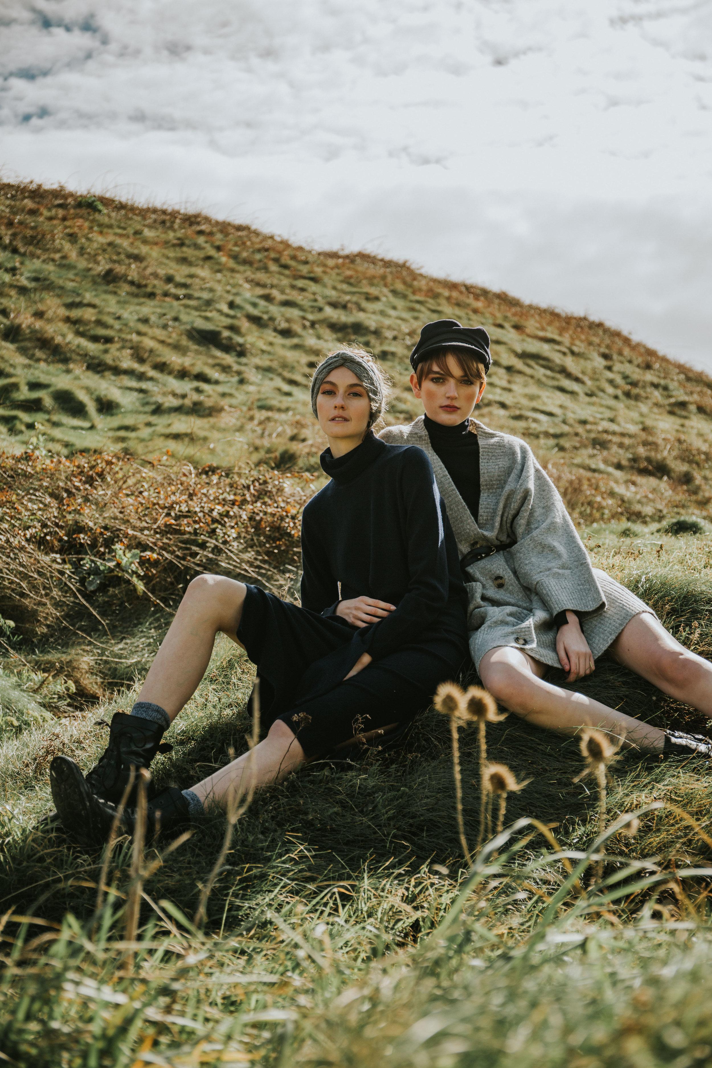 HighlandHers Editorial Fashion Photography in Etretat