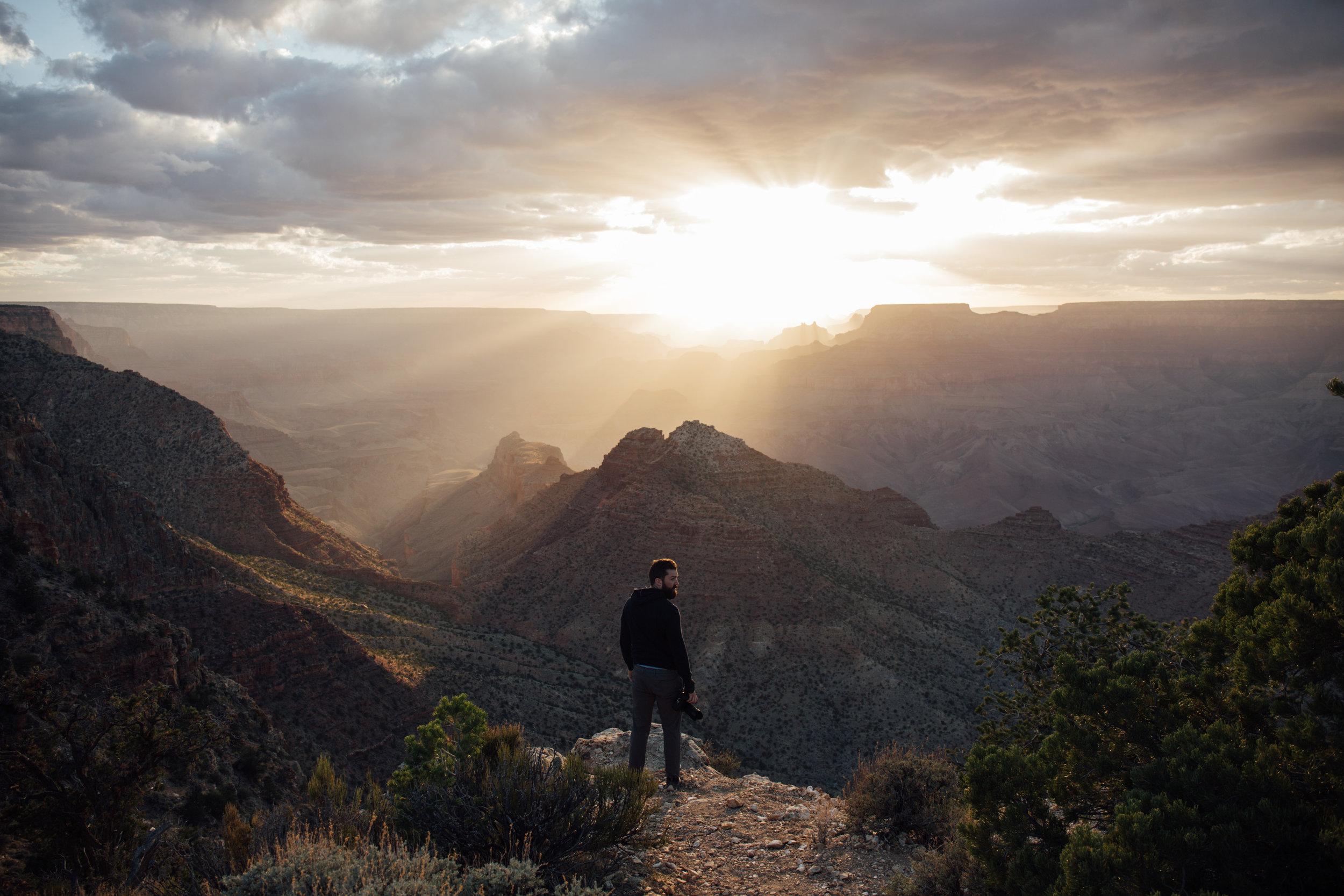 Grand Canyon National Park Sunset Travel Photography