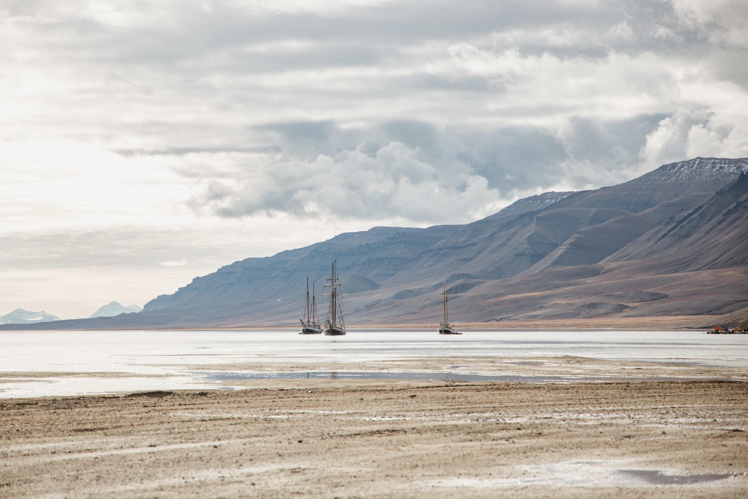 Schooner in Greenland
