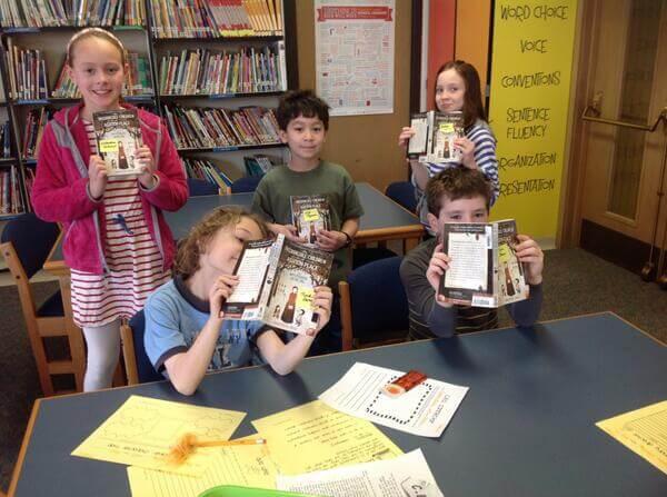 3rd grade bookclub Mann Library.jpg