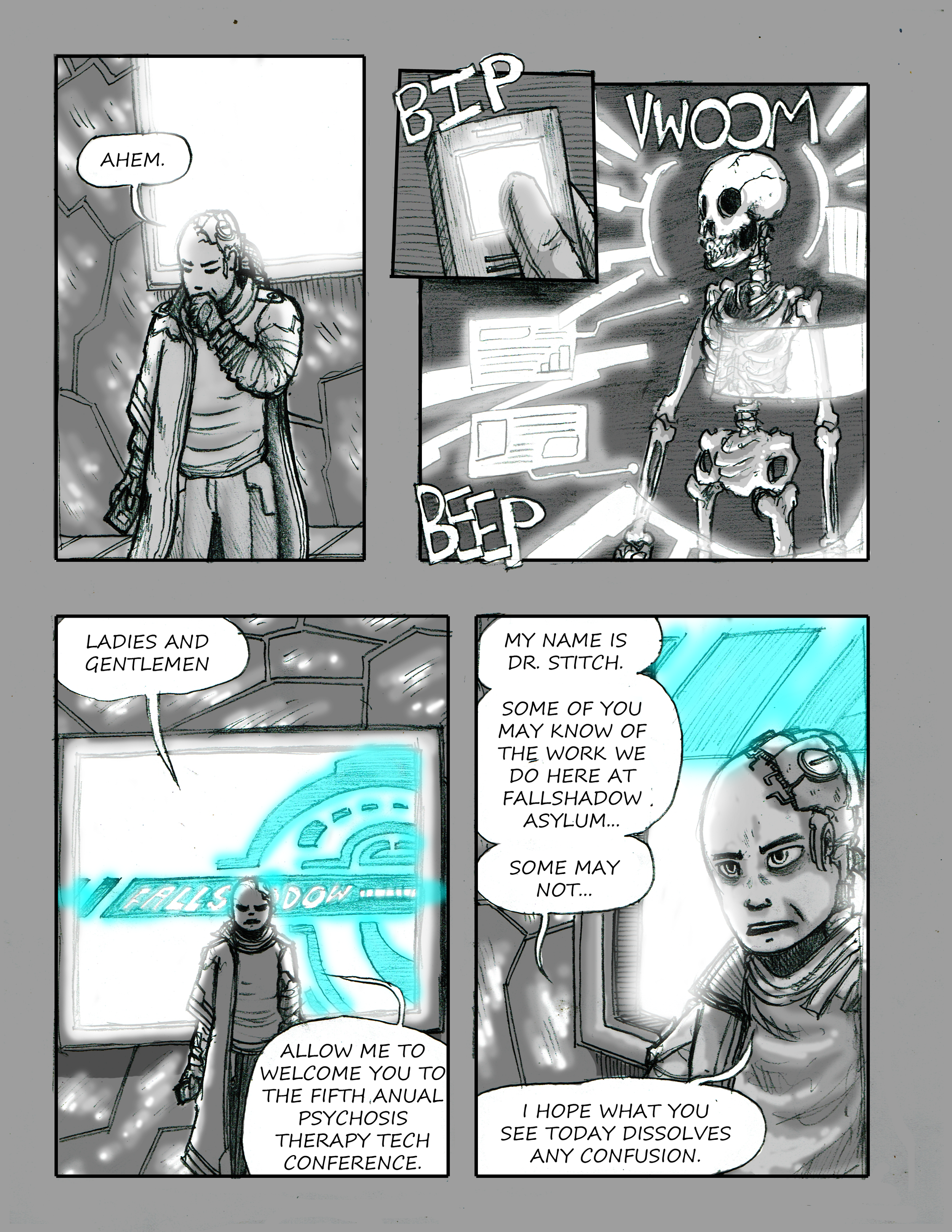 City of Shadows Page 1