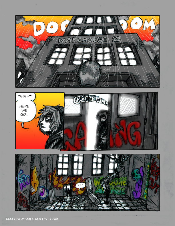 City of Shadows page 8