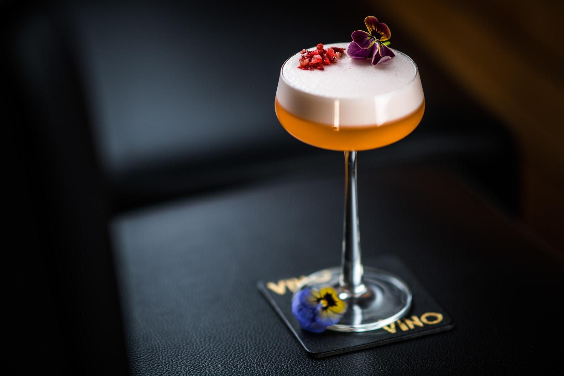 Cocktails at Vino Vino Bath