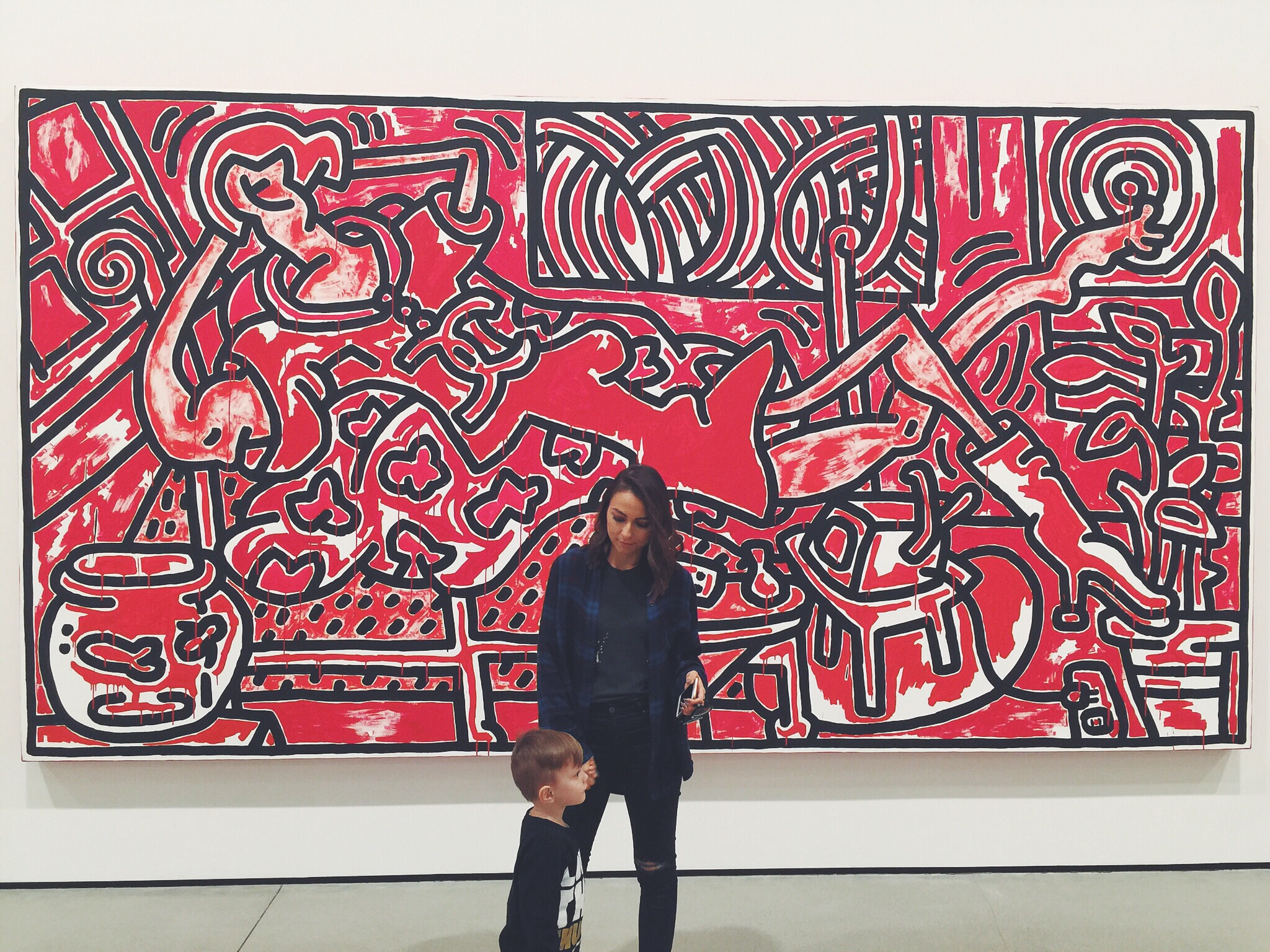 """Red Room"" by Keith Haring"