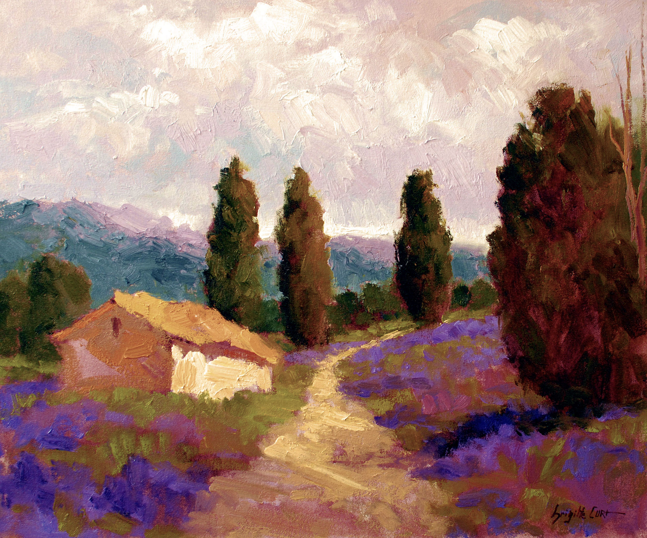 Provence Summer Afternoon 20 x 24.jpg