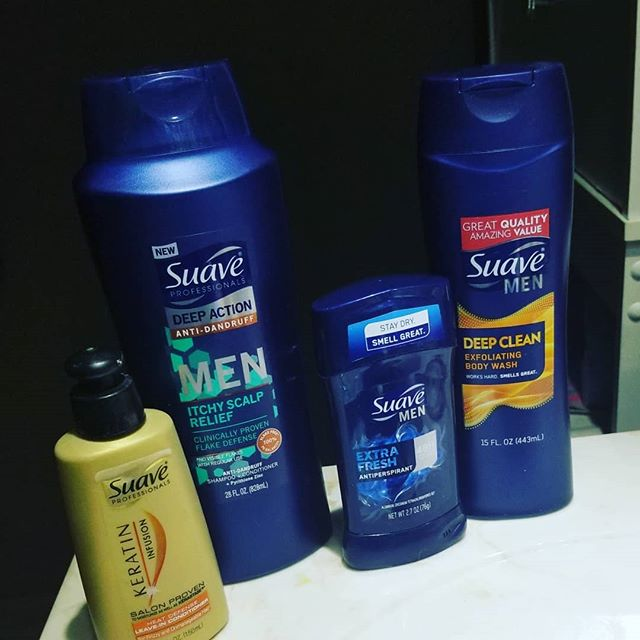 Got my new product to try and now it's my new morning routine! #SuaveBeliever #WorksHardSmellsGreat #contest #complimentary @SuaveBeauty @Influenster