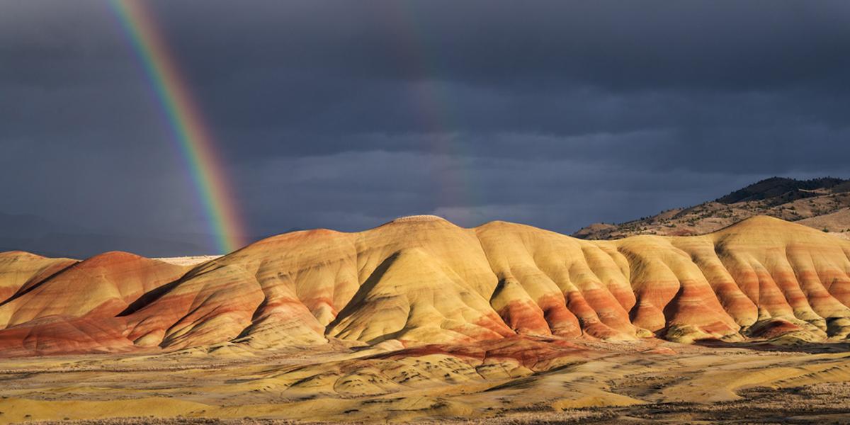 Rainbow Painted Hills