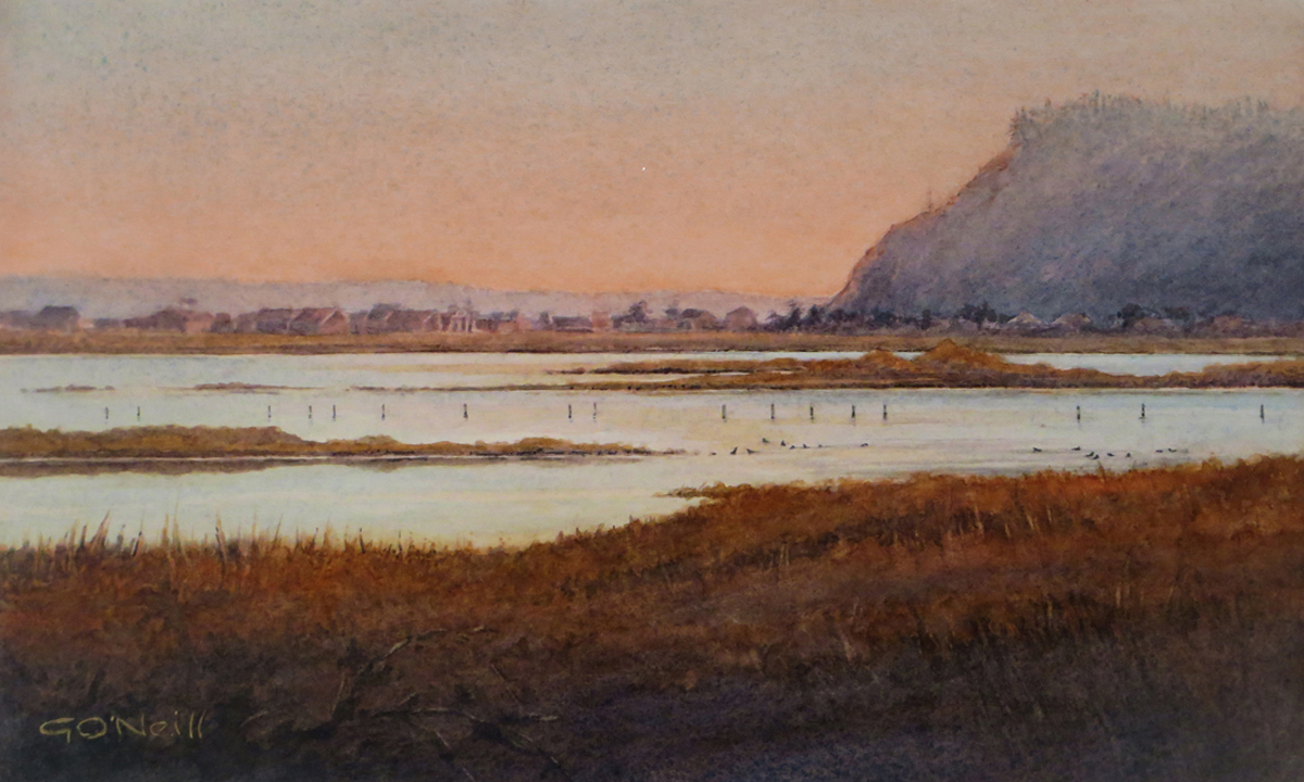 Last Light Over Deer Lagoon