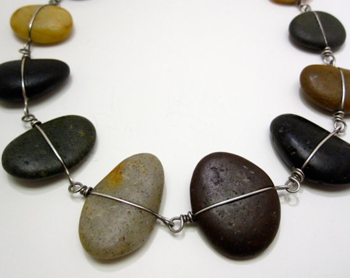 River and Ocean Rock Bracelet