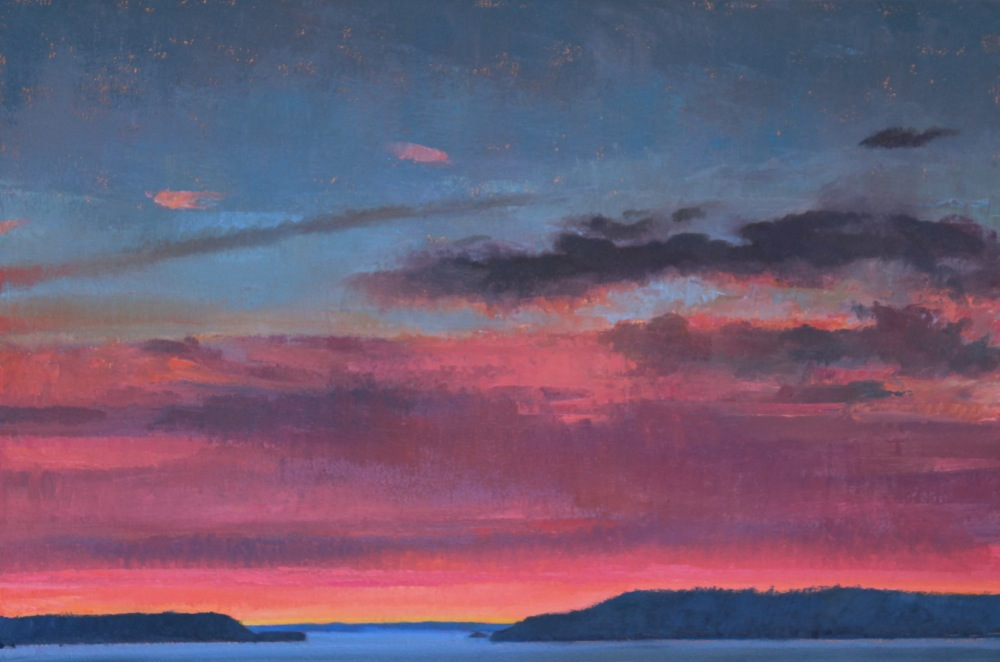 Saratoga Passage Sunset
